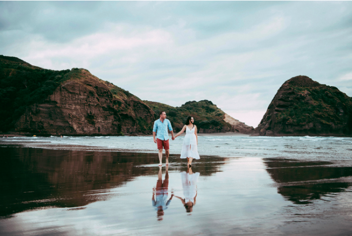 How He Asked by The Knot - Engagement Session: Silvia & Chris {Auckland - New Zealand wedding photographer}
