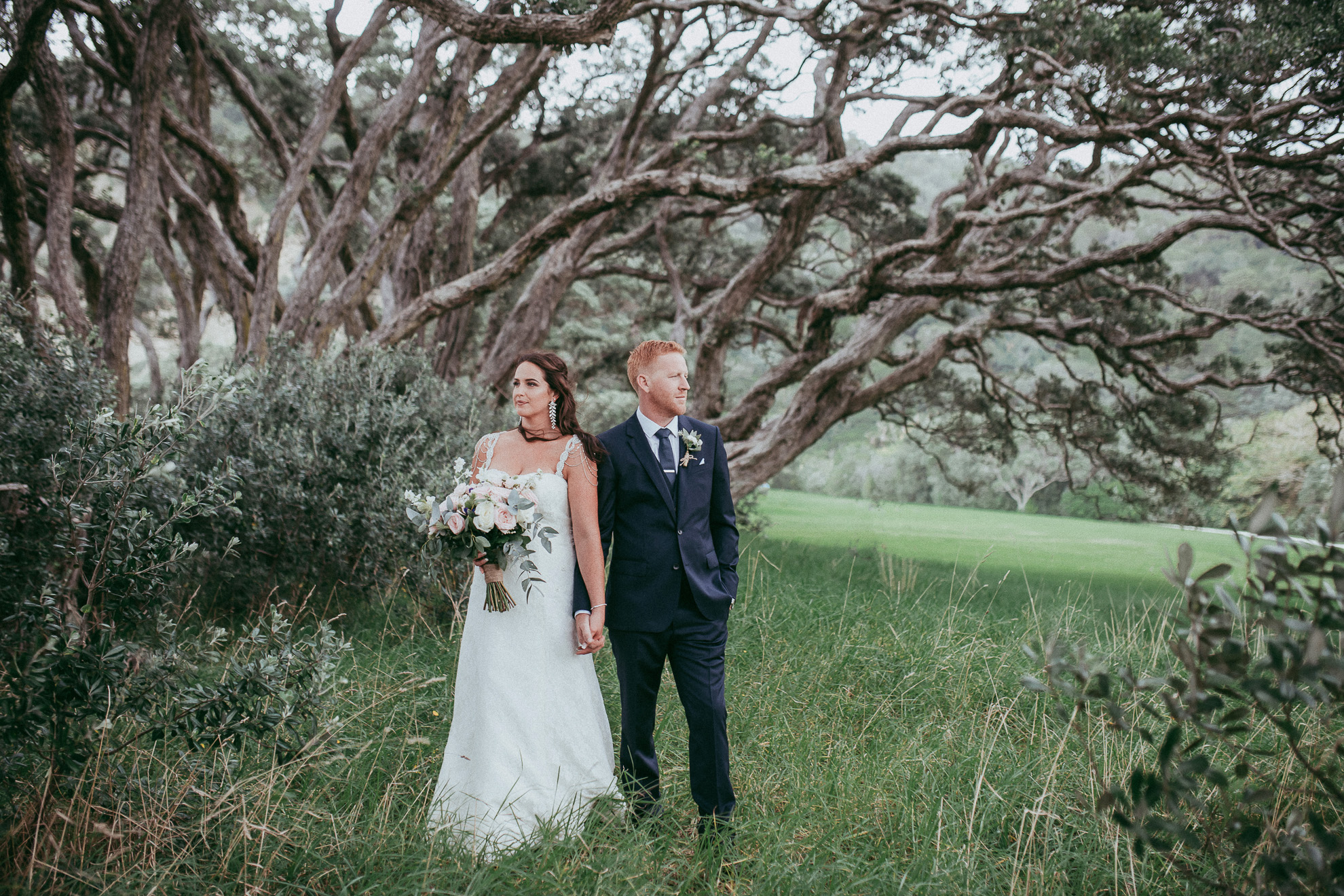 Wenderholm North Auckland Farm Wedding: Sophia and Jethro {New Zealand weddings photographer}