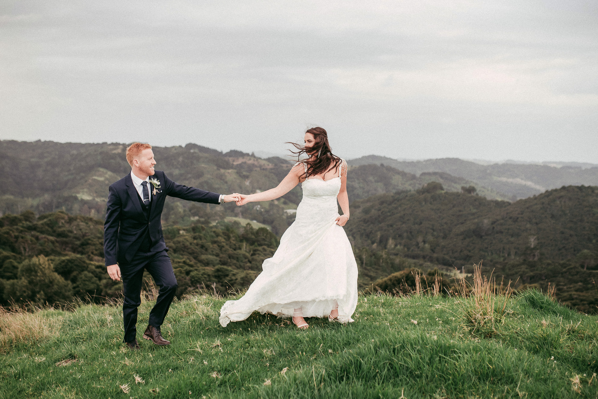 North Auckland Farm Wedding: Sophia and Jethro {New Zealand weddings photographer}