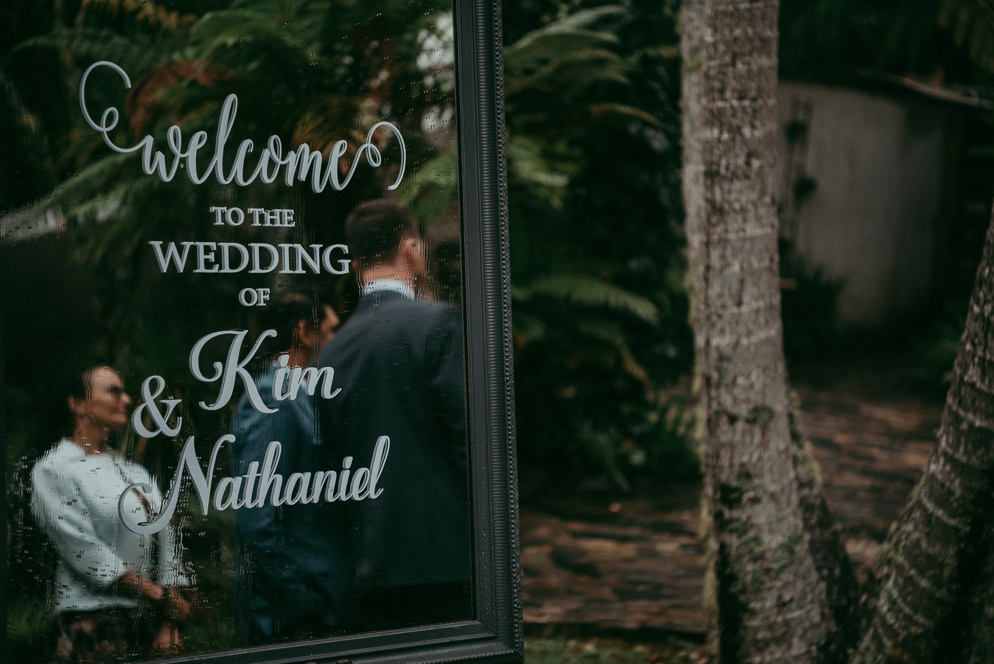 West Auckland - Cassels: Kim and Nathaniel {New Zealand wedding photographers}