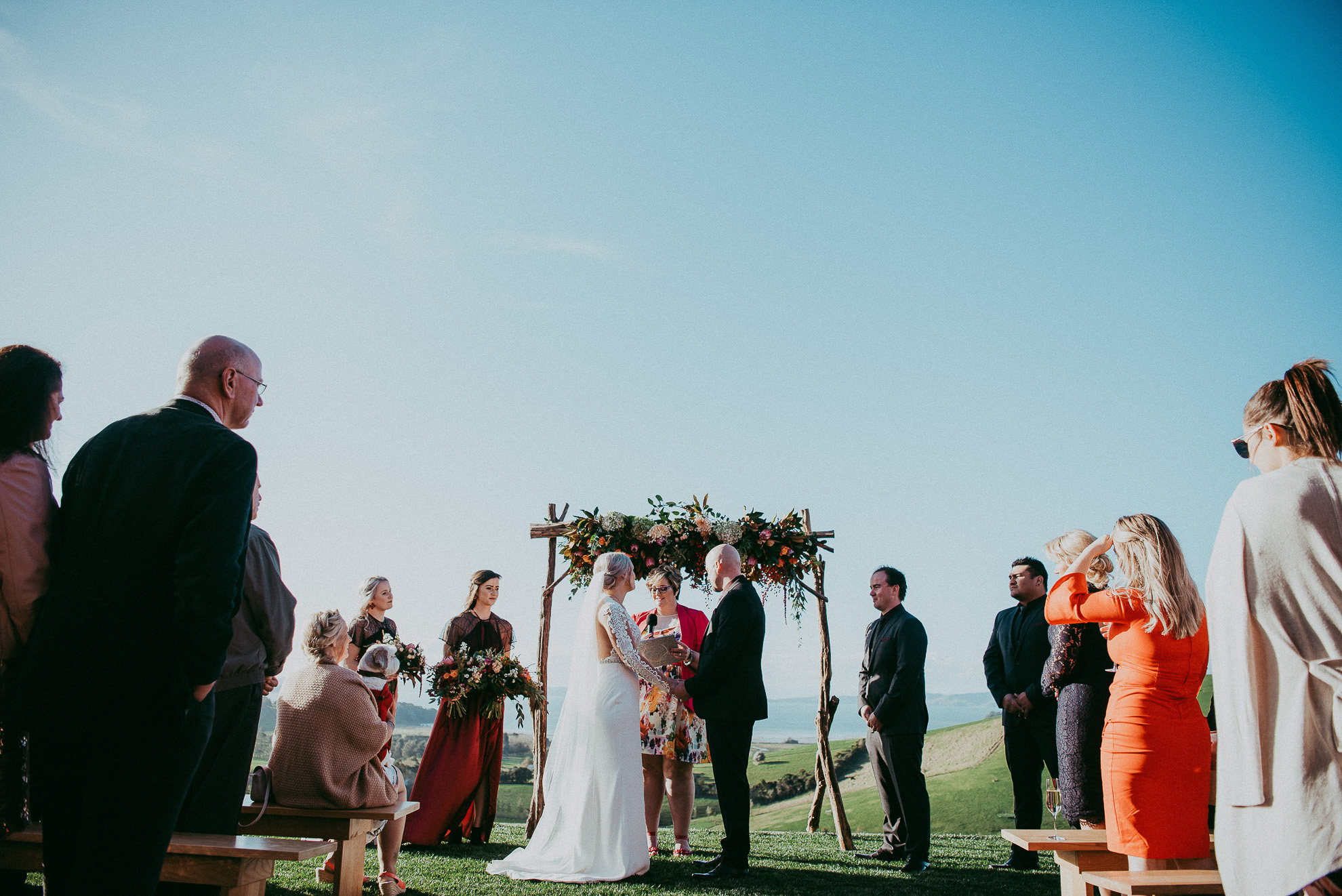 Kauri Bay Boomrock - Clevedon: {Auckland weddings}