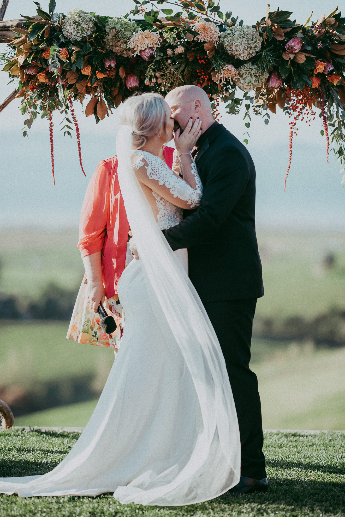 Kauri Bay Boomrock - Clevedon: {New Zealand wedding photographers}
