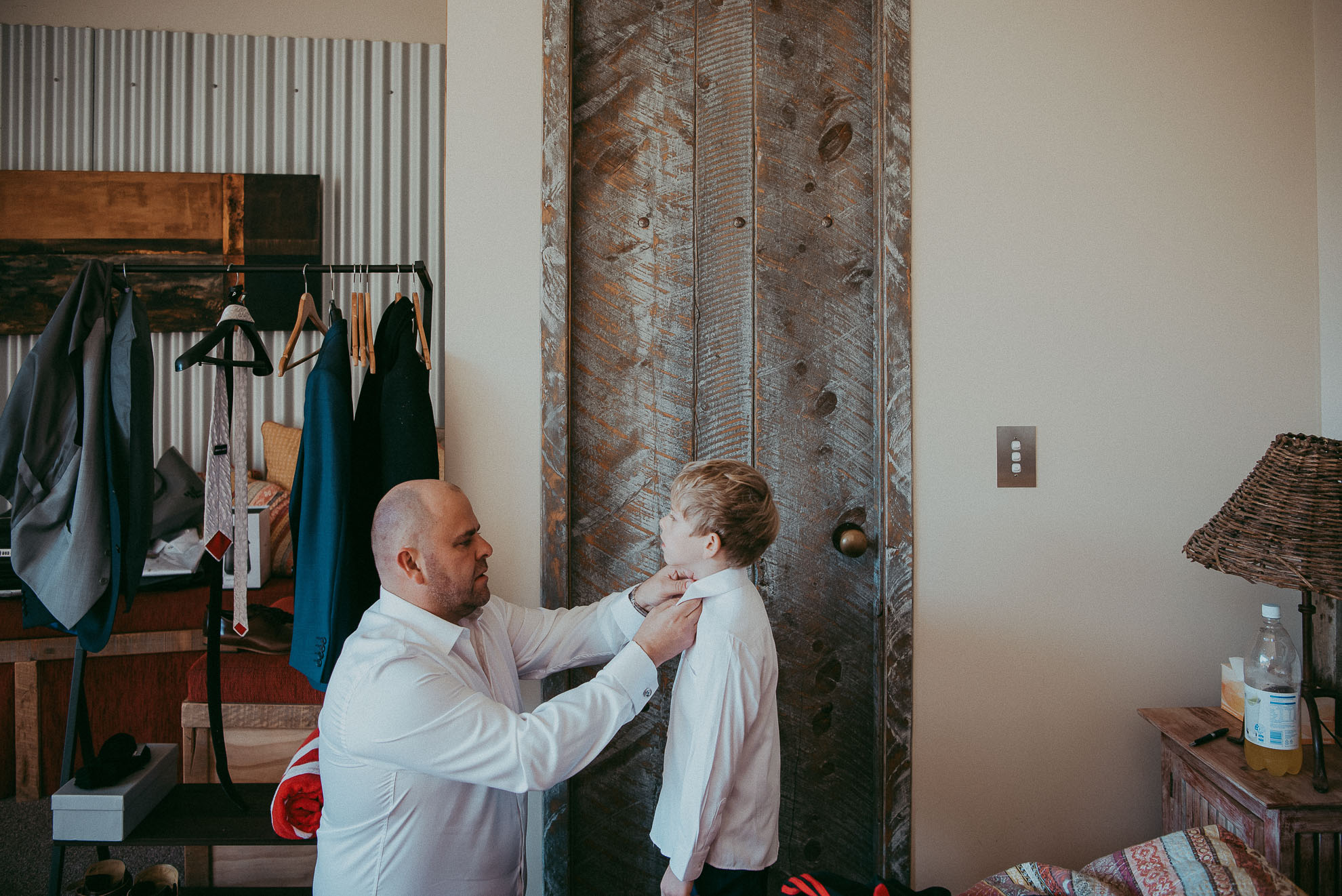 Tawharanui Winter Wedding - Koru House {Auckland elopement-engagement photographer}