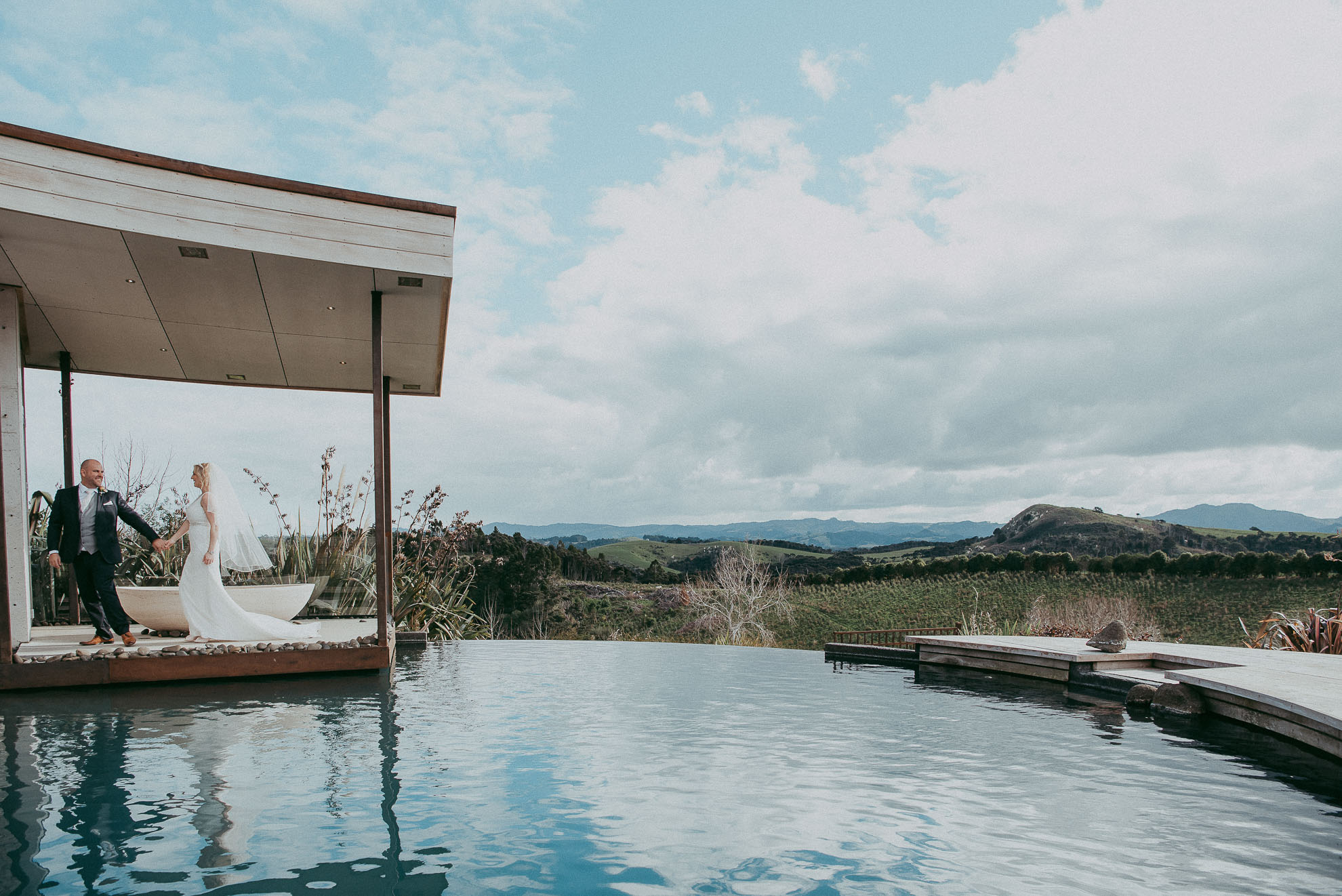 Tawharanui Winter Wedding - Koru House {New Zealand elopement-engagement photographer}