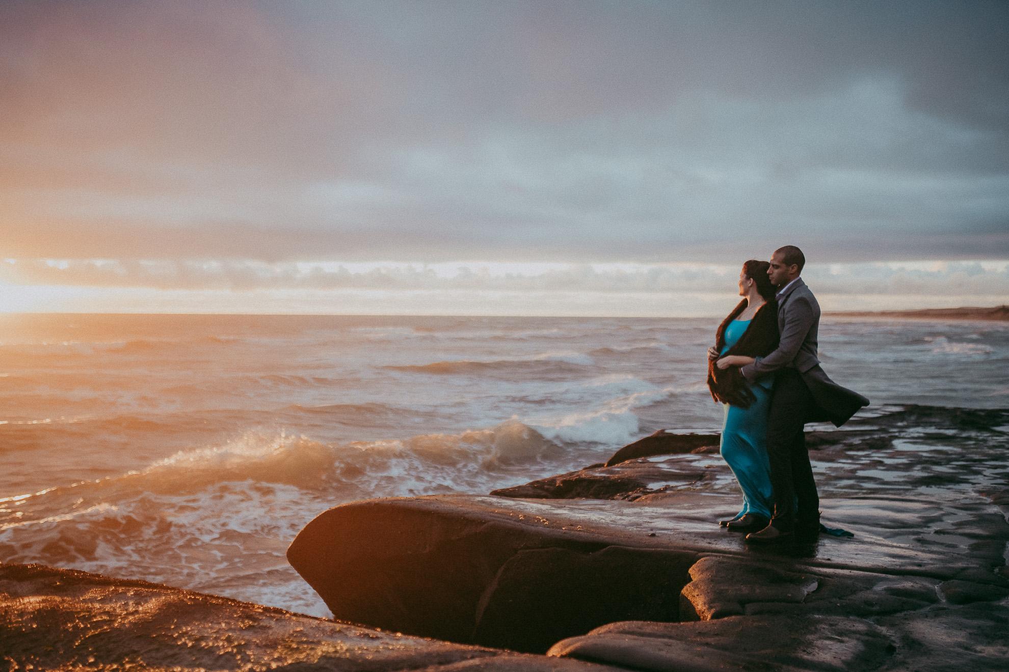 Auckland maternity photo shoot {pregnancy-baby-newborn photographer} forest+beach