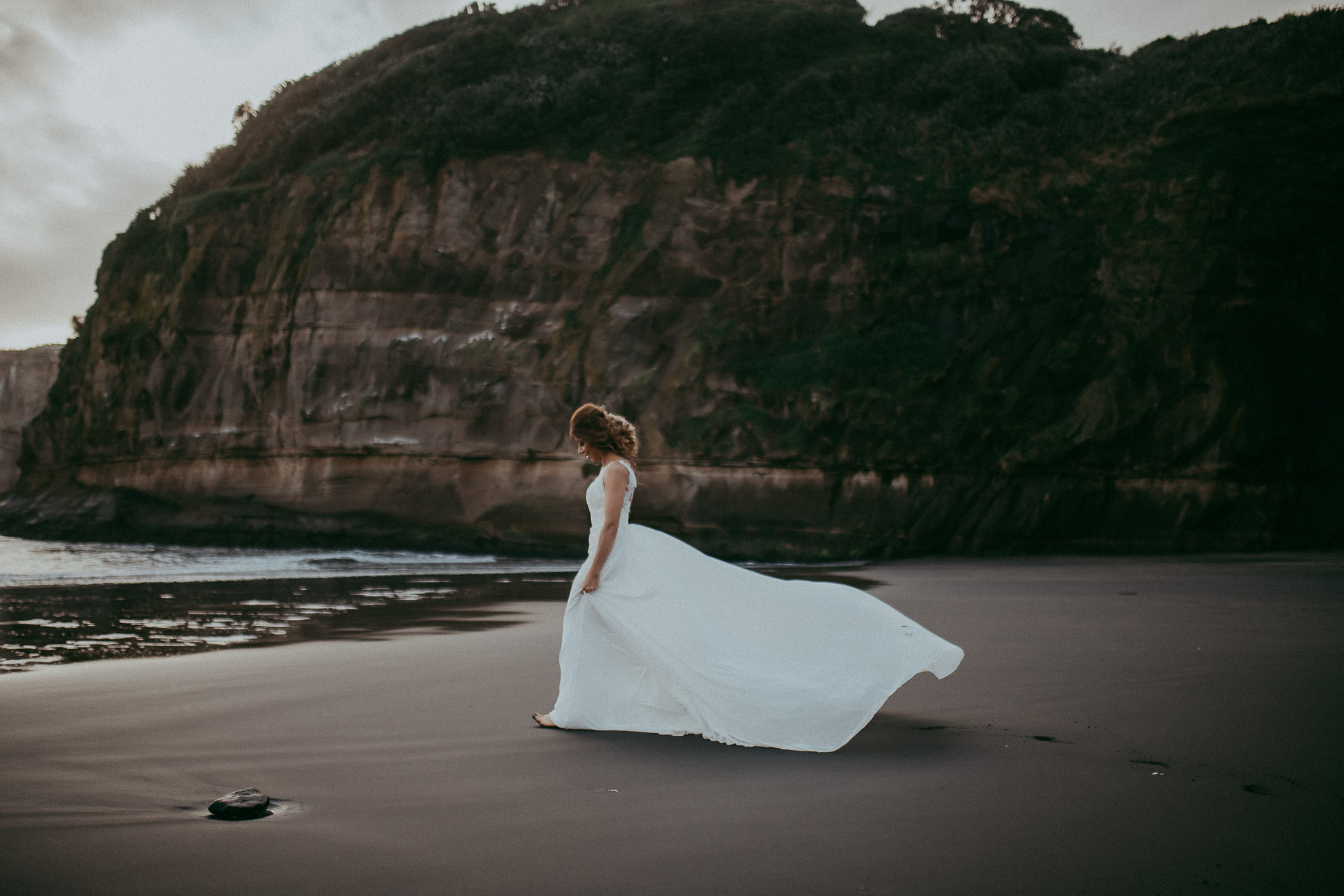 Post-wedding photo shoot in Auckland {New Zealand wedding photographer}