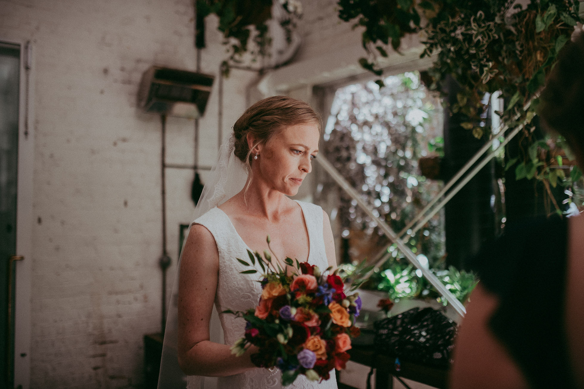 Everybody's - Auckland City {New Zealand wedding photographer} - industrial wedding venue cafe