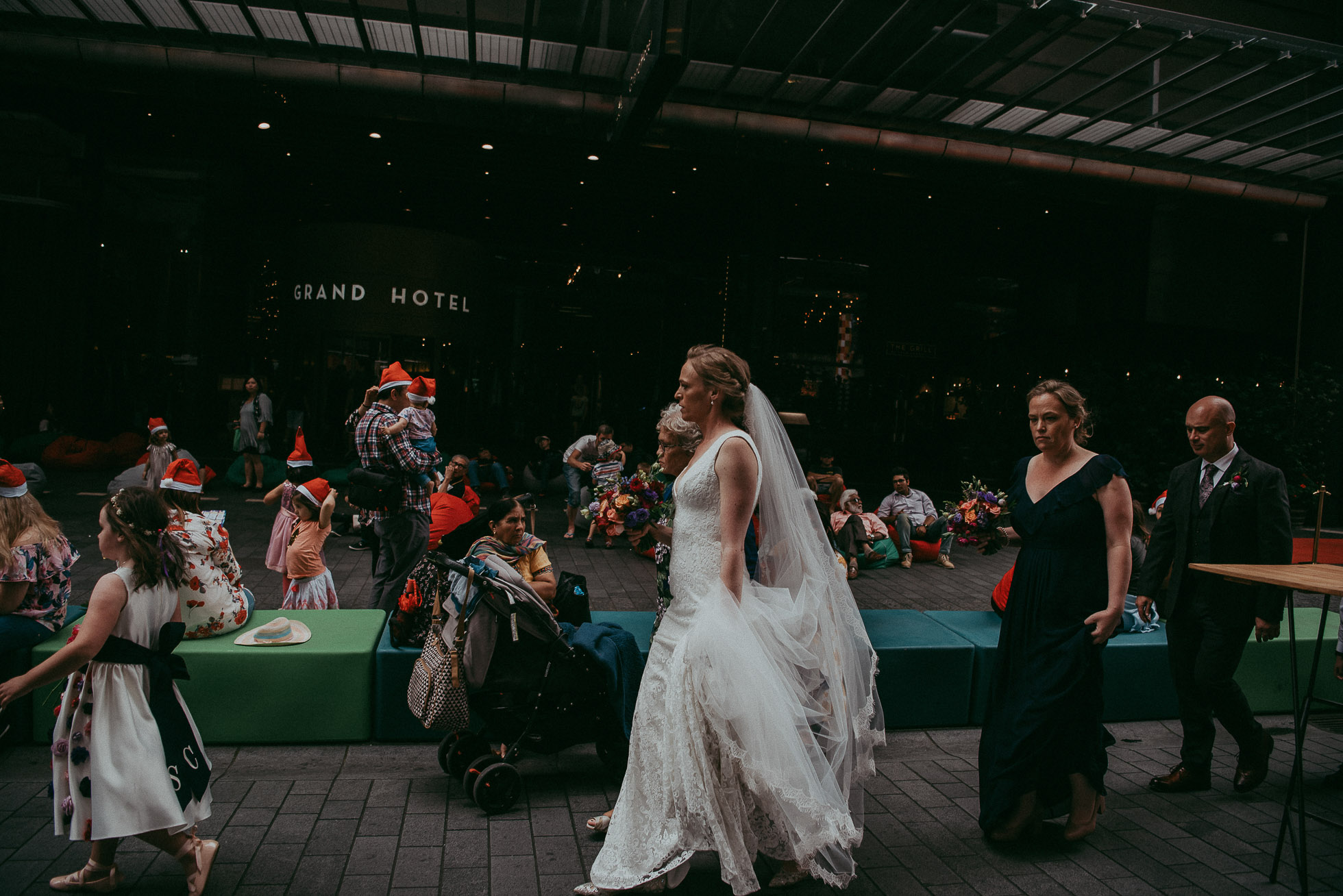 Auckland City wedding - NZ weddings documentary photographers