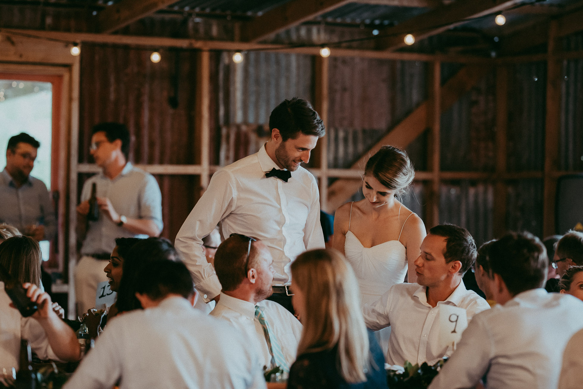 Auckland rustic wedding venue - Nocton Woolshed - barn shed