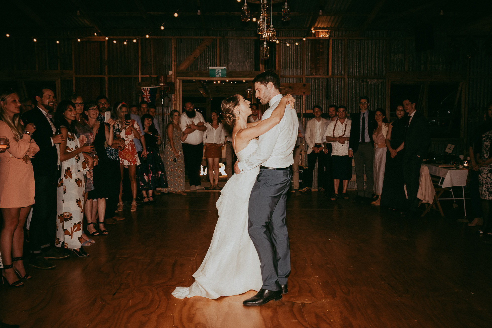 Auckland wedding photographers - rustic wedding venue - Nocton Woolshed - barn shed