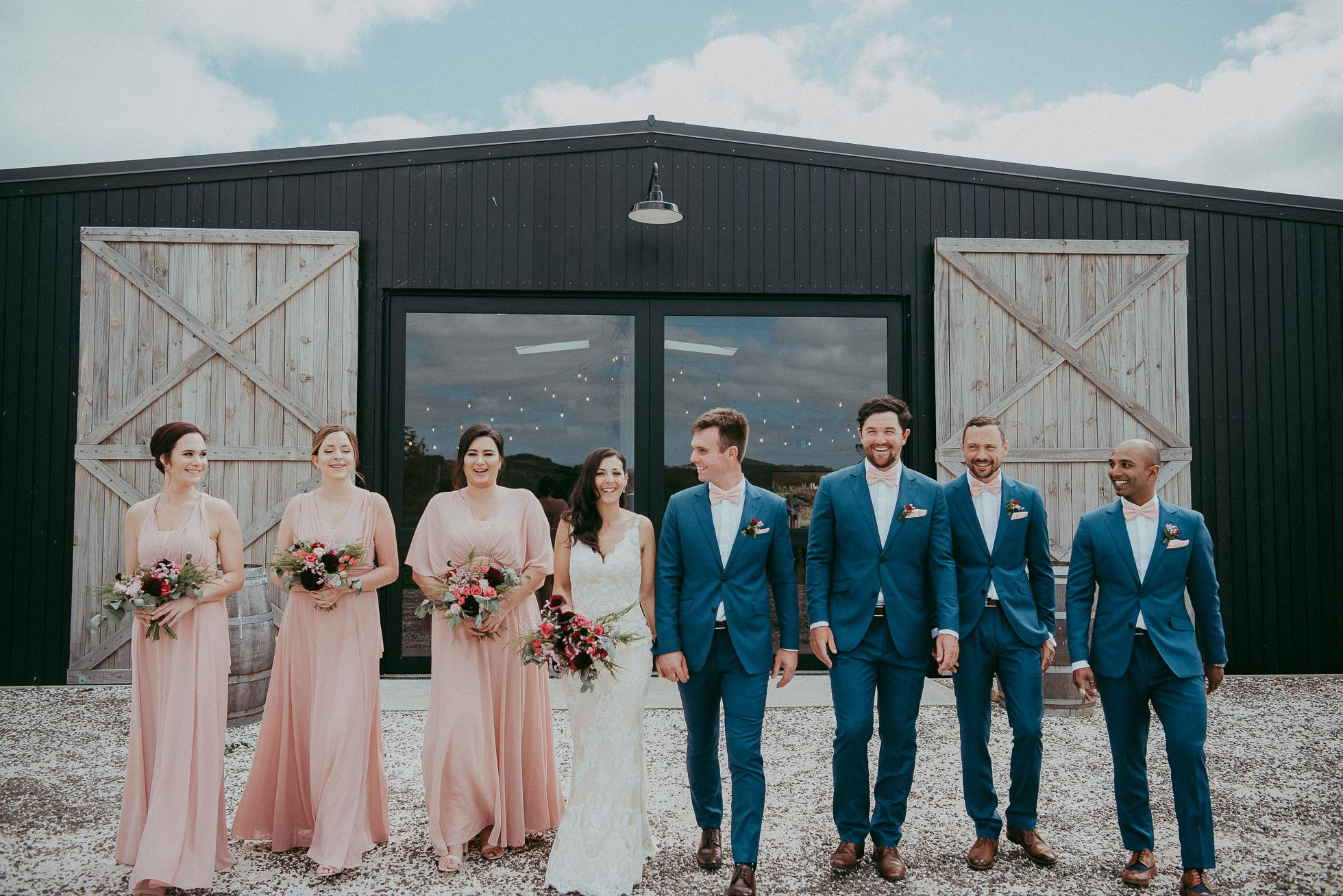 West Auckland wedding photographers - The Hunting Lodge