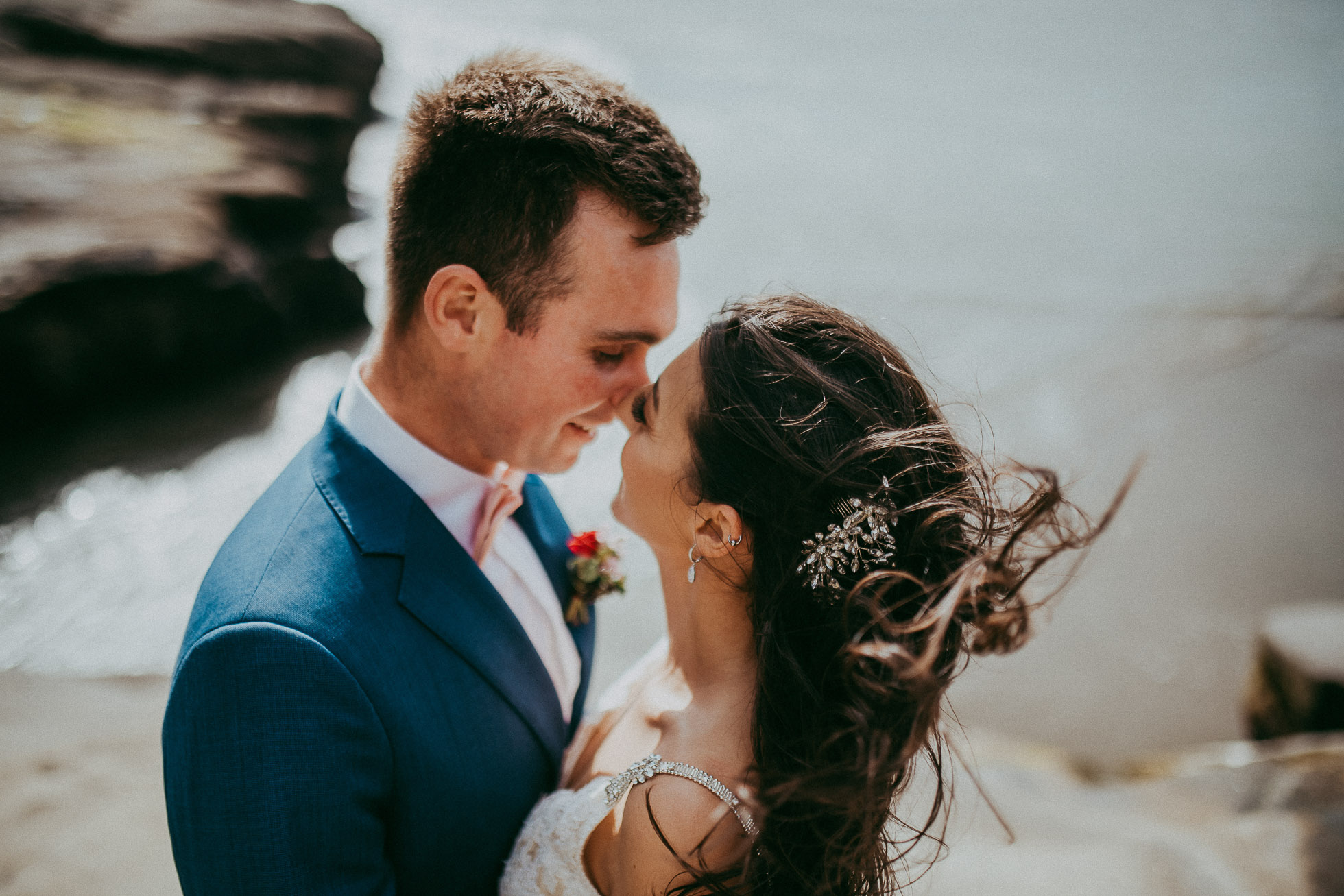 wedding photography - Muriwai Beach