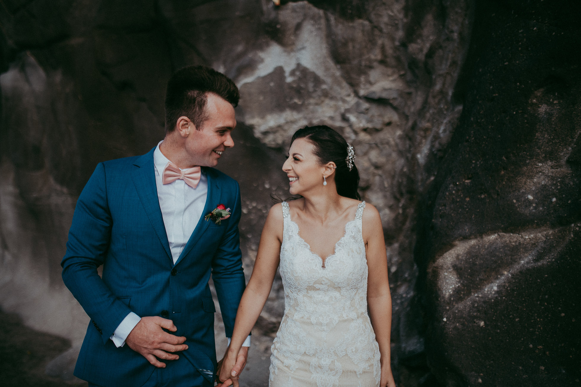 Muriwai Beach - wedding photography