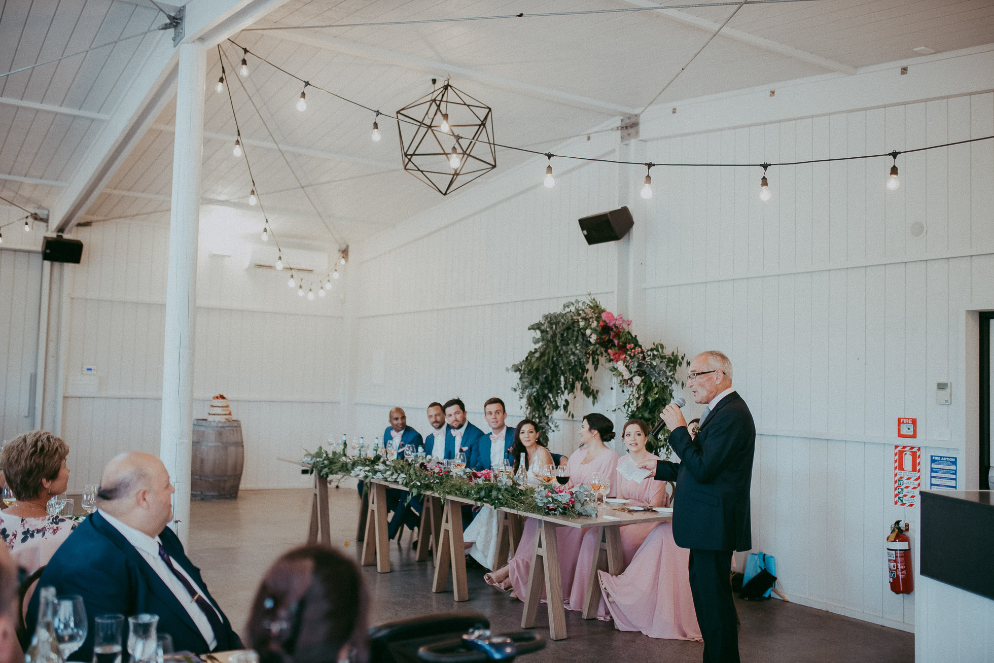 The Hunting lodge - winery wedding venue - modern barn