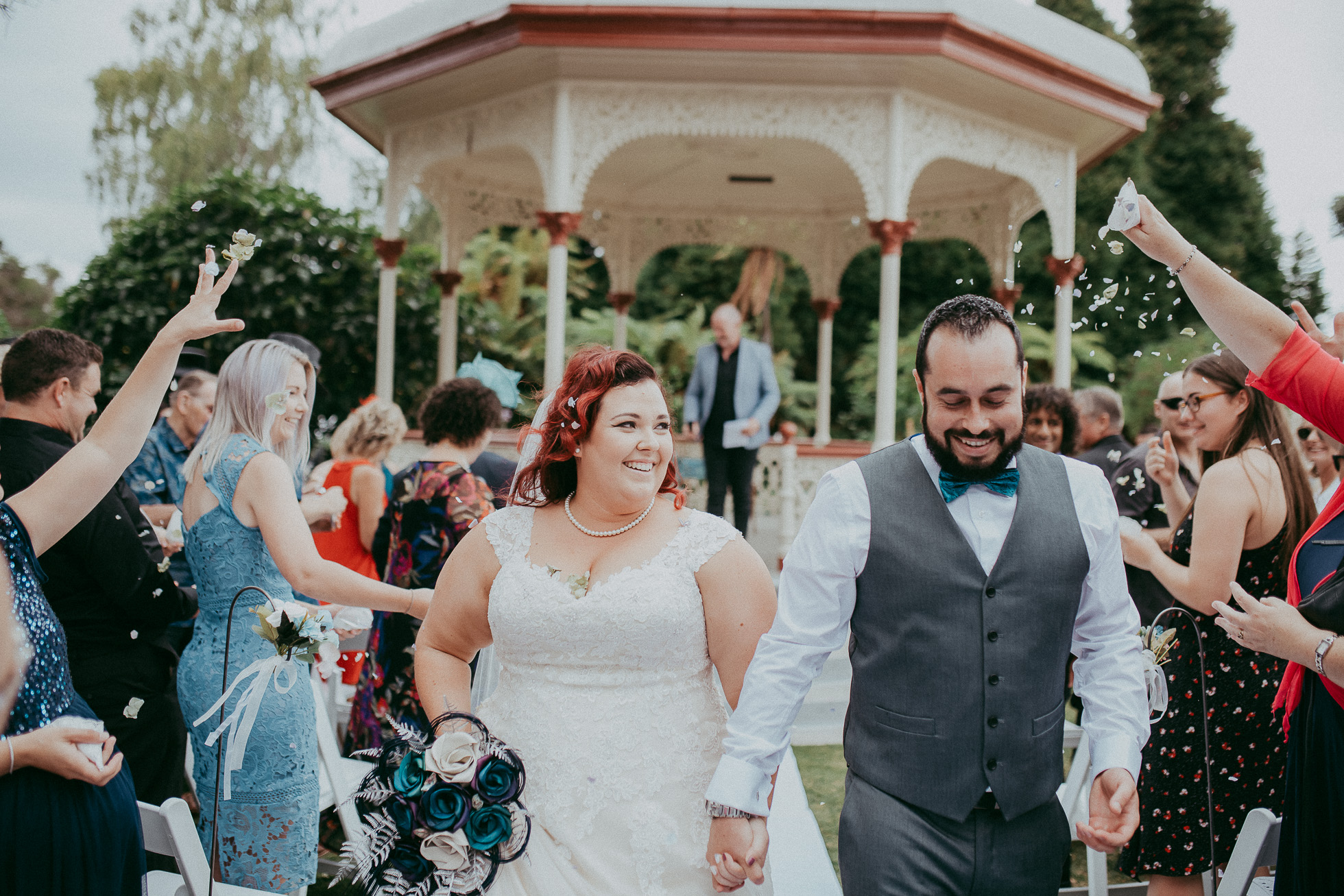 Rotorua Government Gardens - Blue Baths {Auckland documentary wedding photographer}
