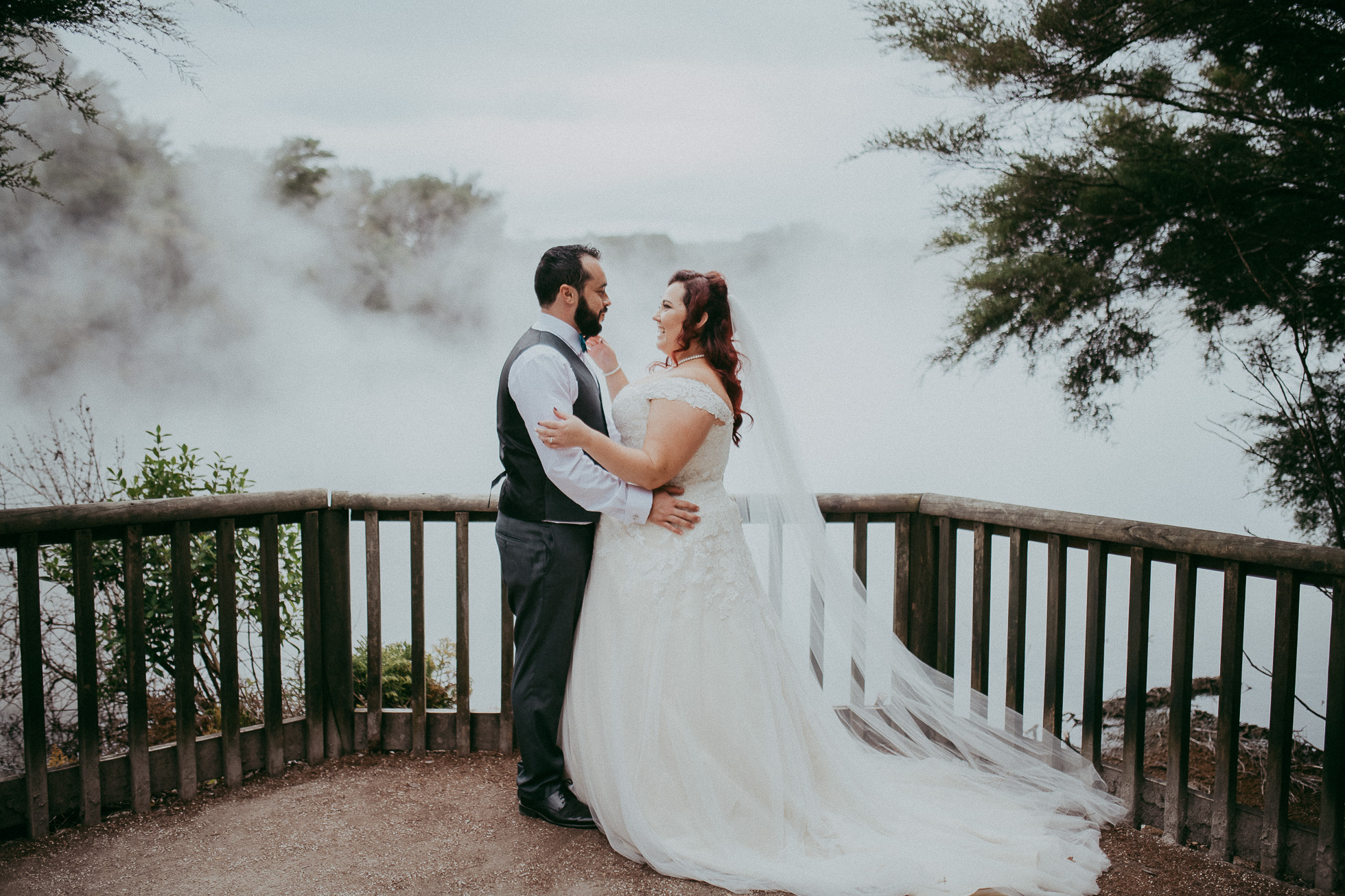 Rotorua Government Gardens - Blue Baths {Auckland wedding photographer}