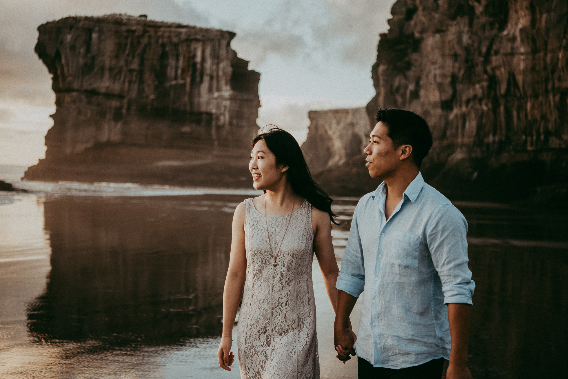 Auckland engagement photo shoot | weddings photographers