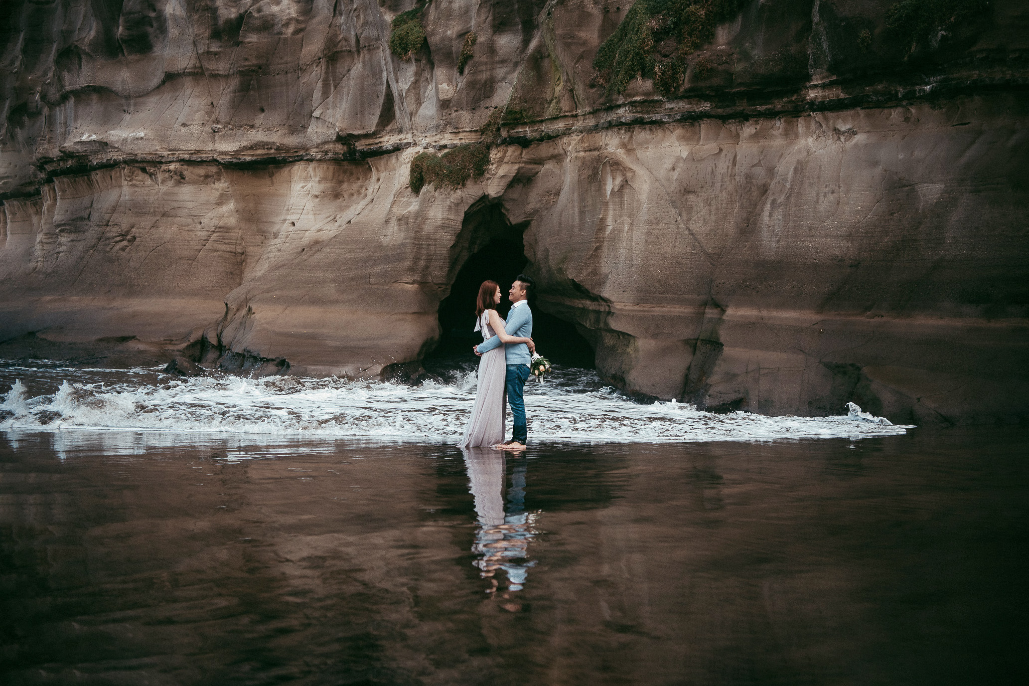 Auckland pre-wedding photographer