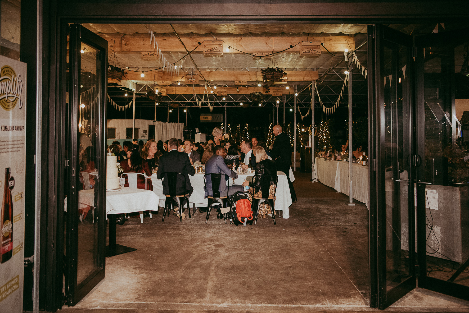 Orakei Bay - Kings Garden Cafe {Auckland wedding photographers}