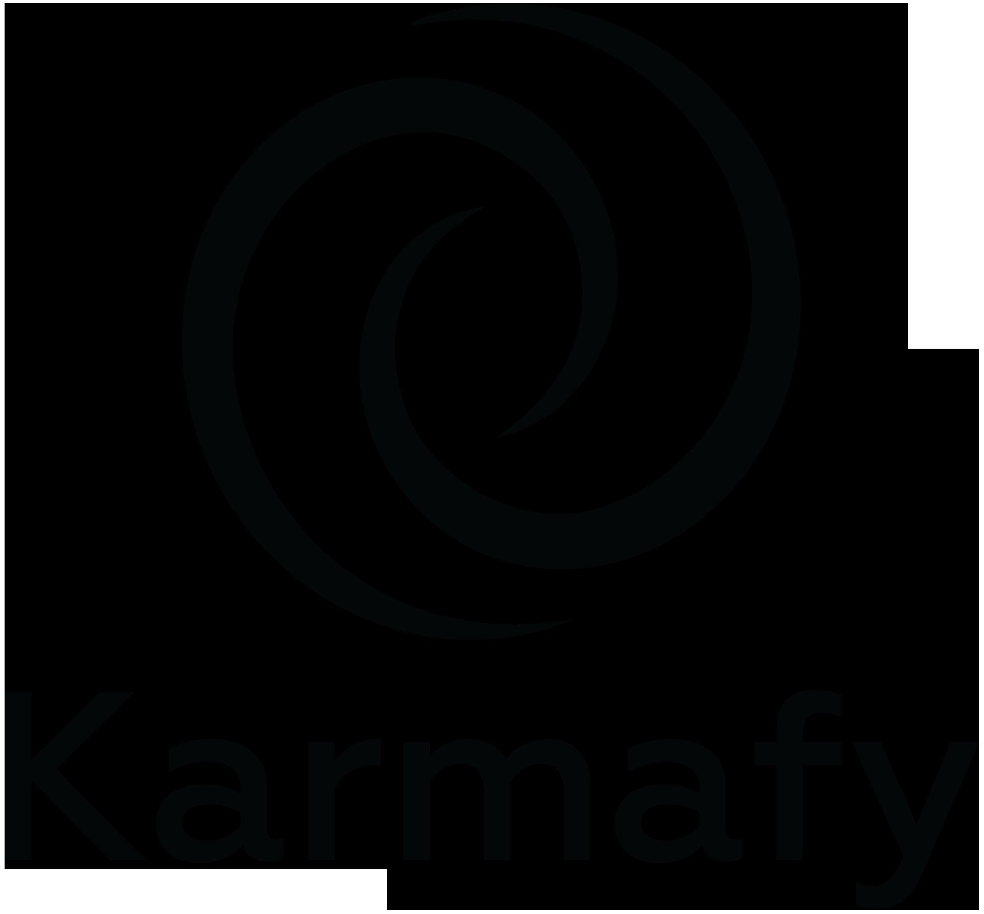 Karmafy logo square black cropped .png