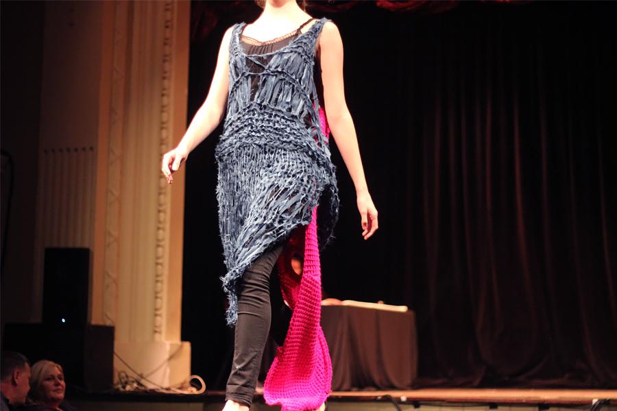 Mallory Maduka-ike |Label: MKO | Fabric donated by Providence Silk