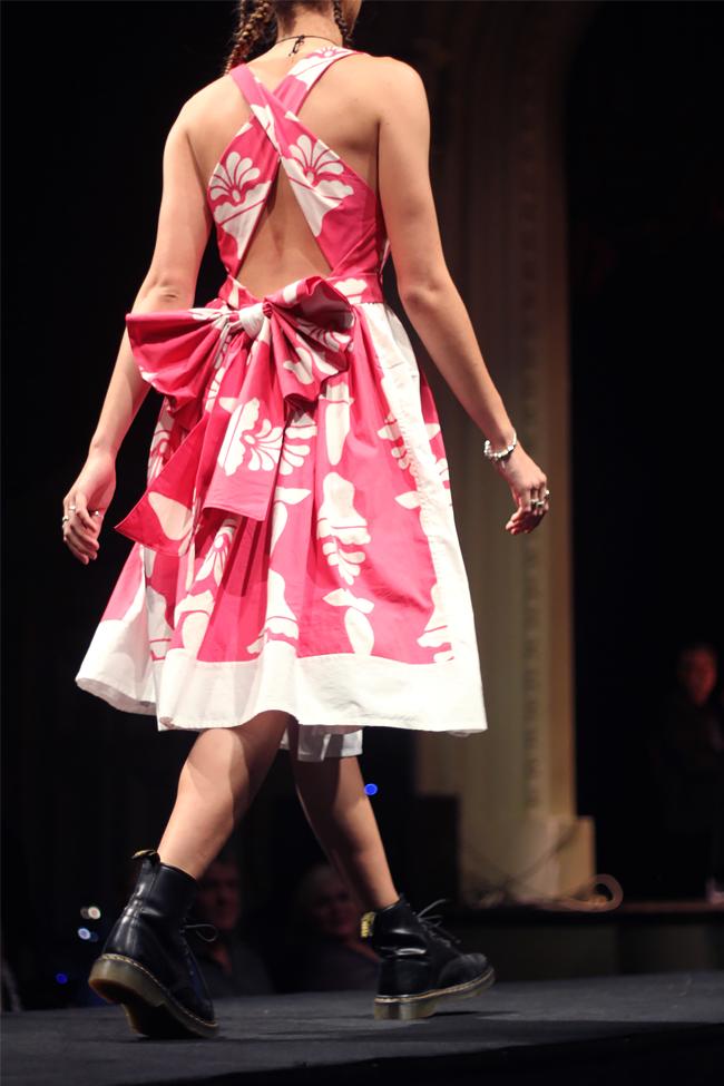 Emily Joan Gibbs |Label: Aubrey | Fabric donated by Myadashi