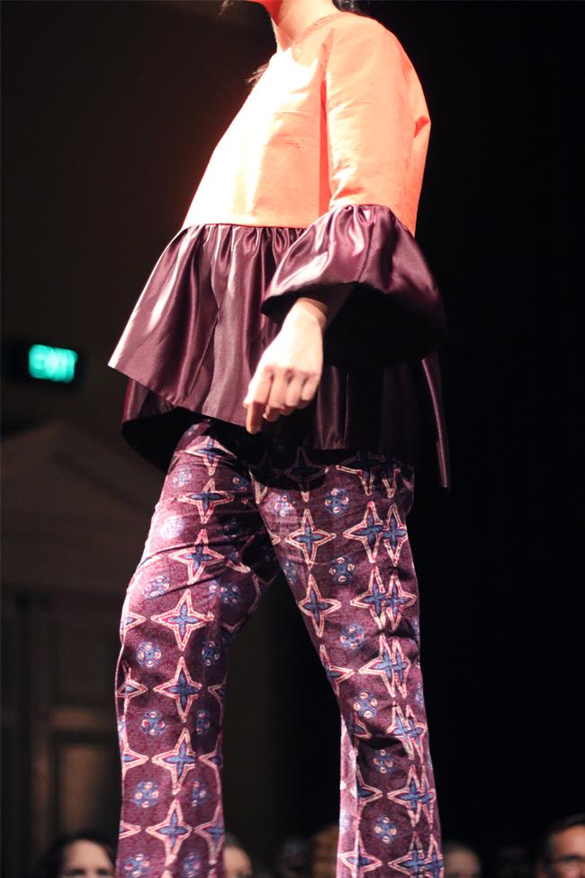 Gloria Toniatti |  Fabric donated byZenana Women(top) andAnjel Ms (pants)