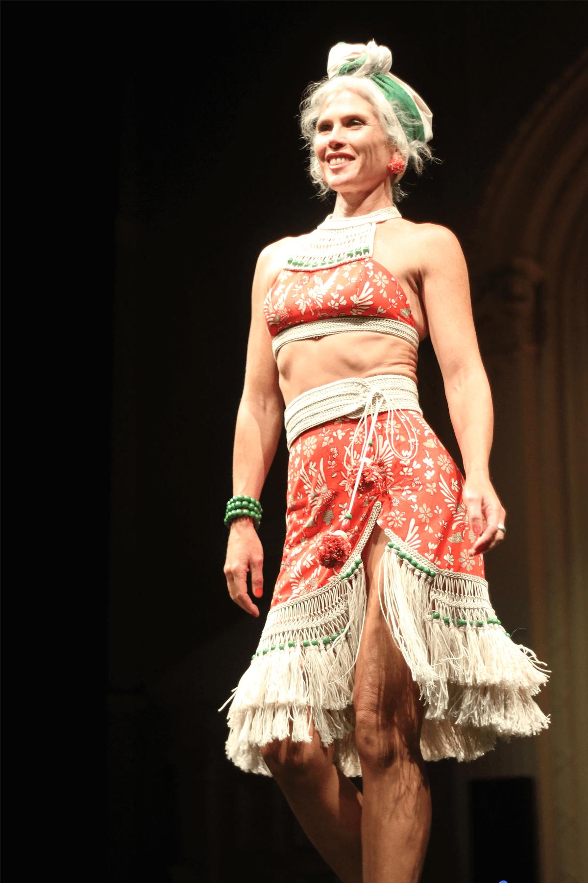 Jasmin Jones | Label: Jasmin Jones Jewellery | Fabric donated by Anjel Ms