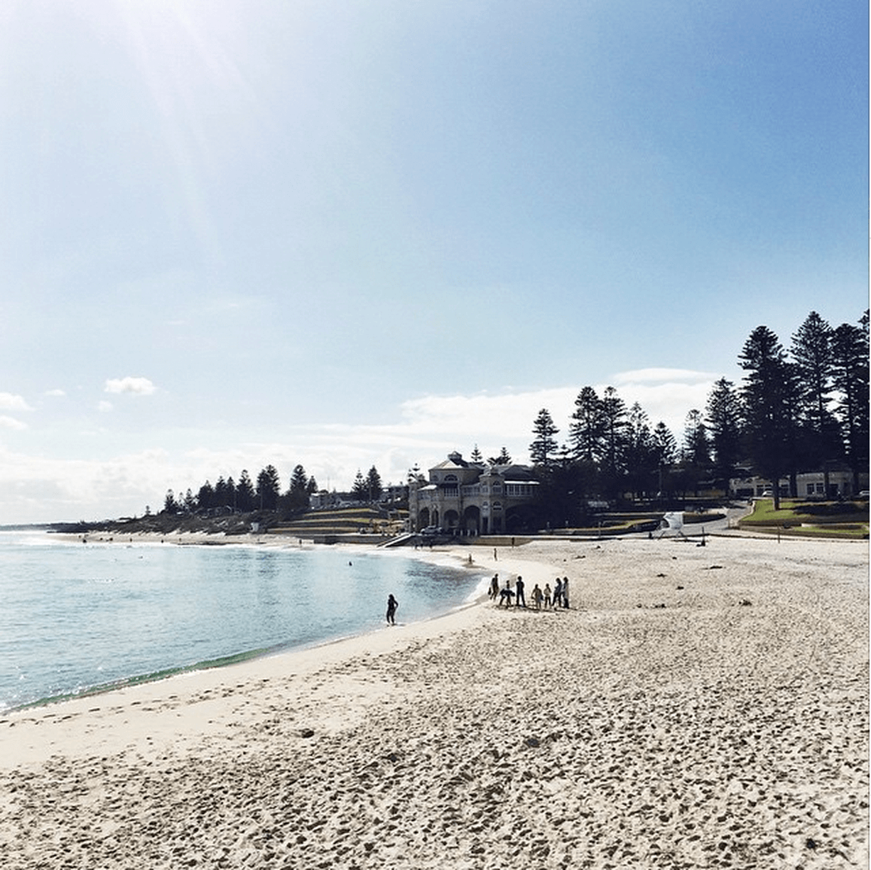 MY#WADAYPLEDGE IS TO EAT, DRINK AND LIVE LOCAL. WHAT'S YOUR PLEDGE THIS LONG WEEKEND?  Location: Cottesloe Beach, Perth