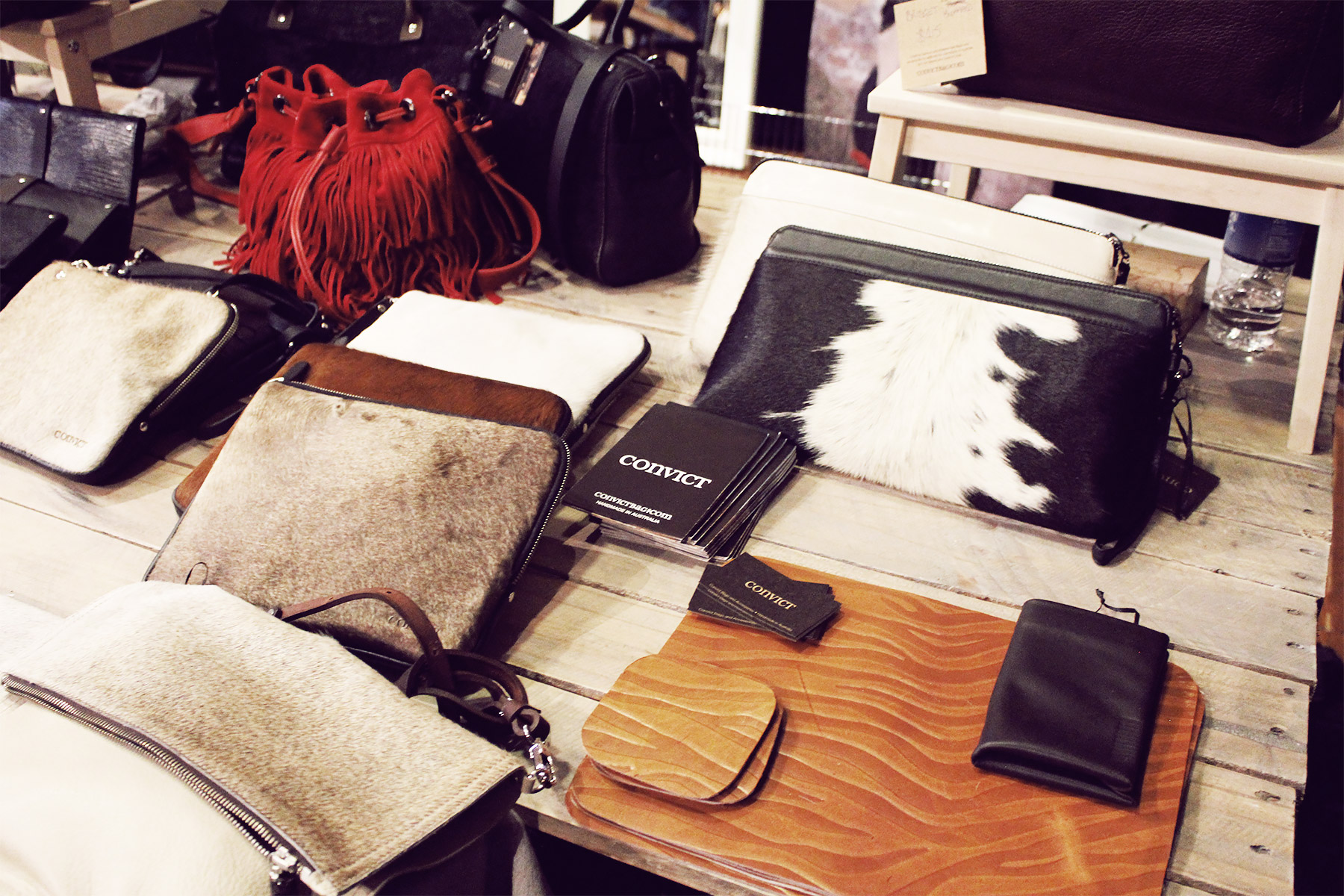 Convict Bags at Sunday Best Market