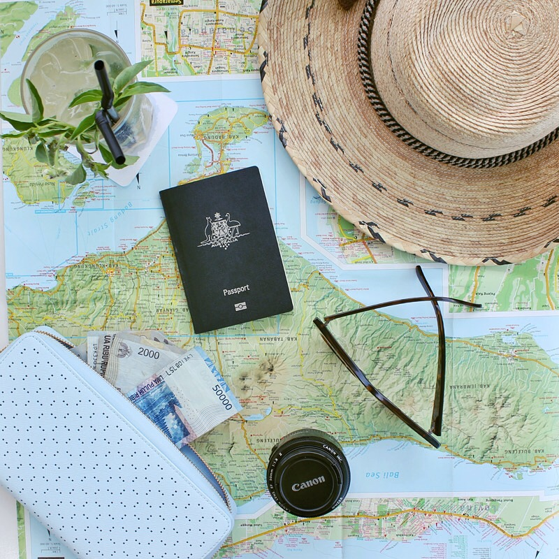 Travel ready with Kikki.K travel wallet.