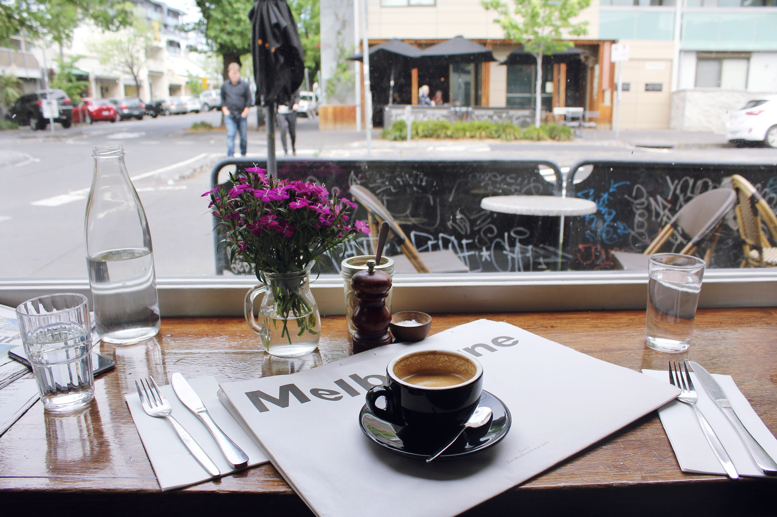 Ici Cafe in Fitzroy