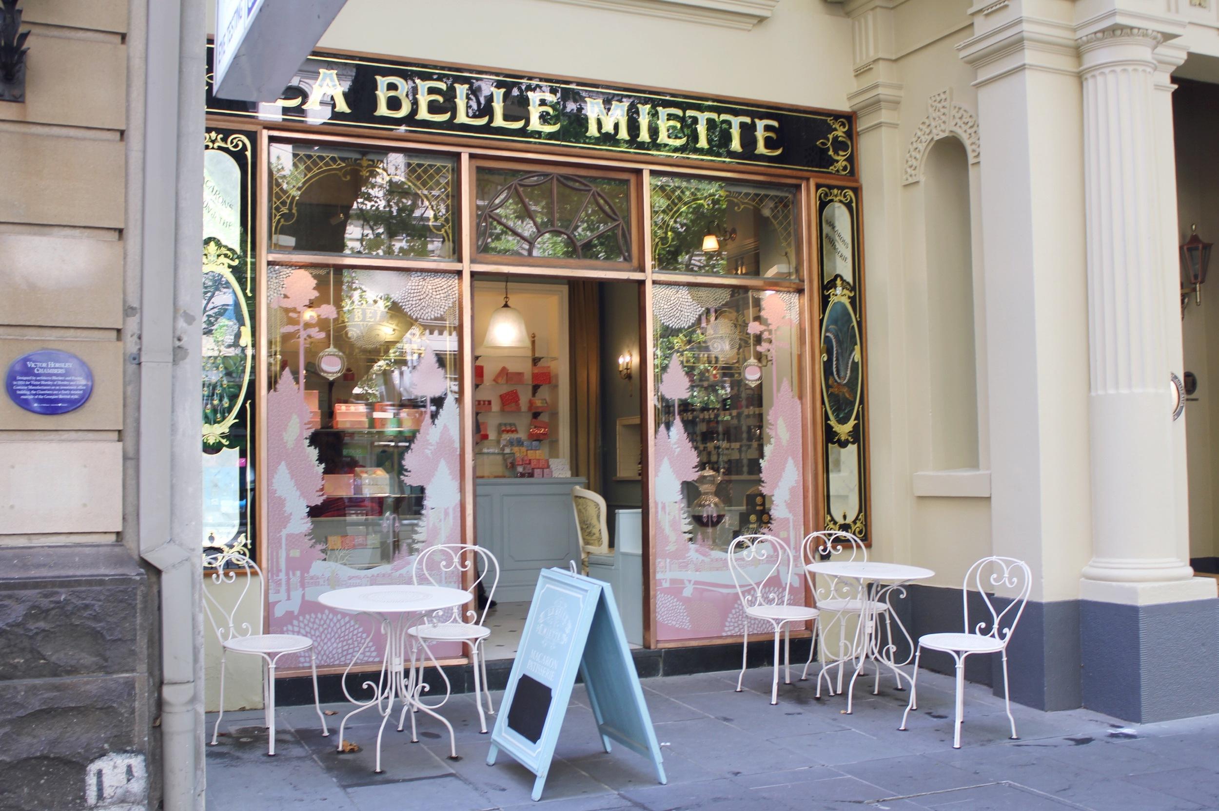 La Belle Miette, Collins Street, CBD.
