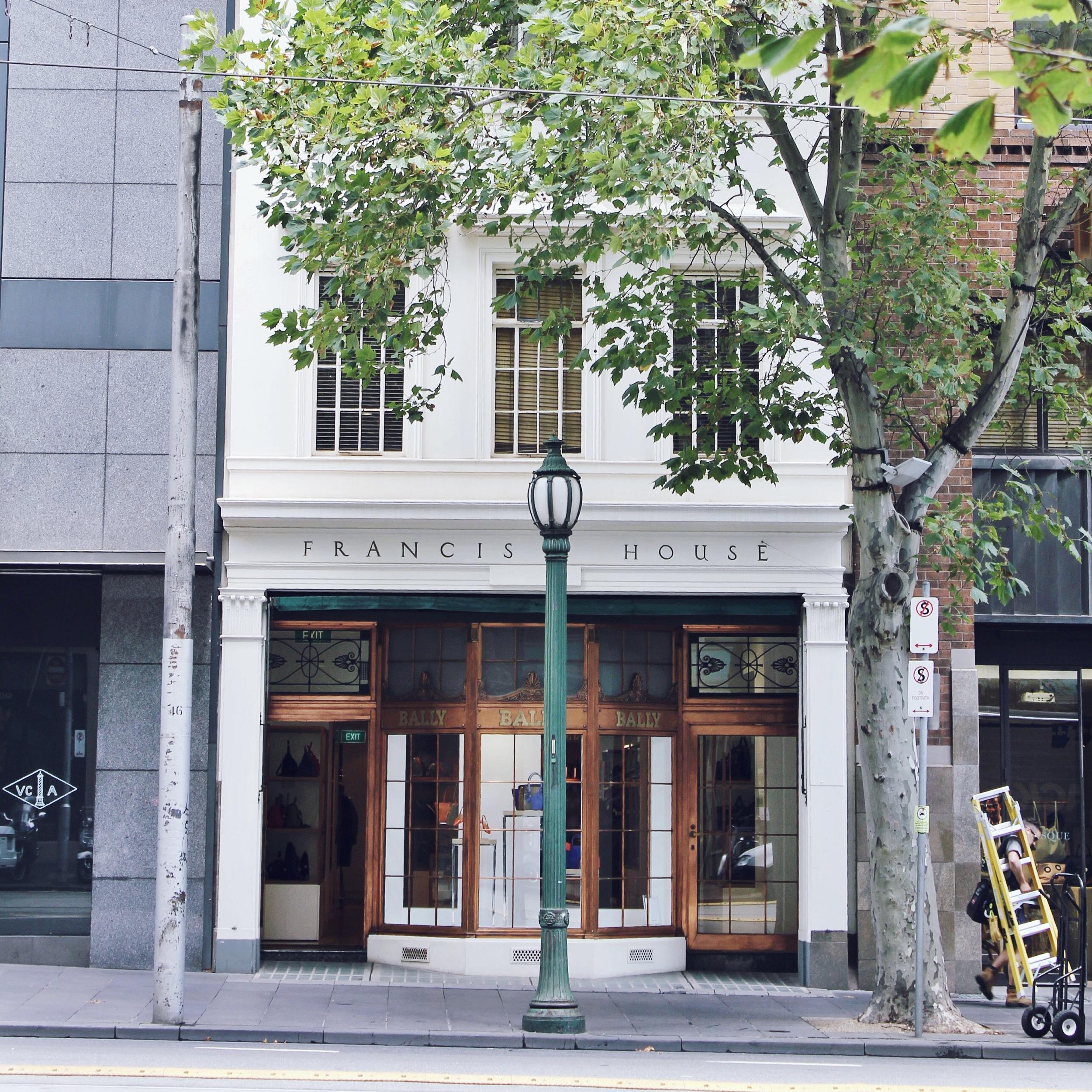 Bally store, Collins Street, CBD.