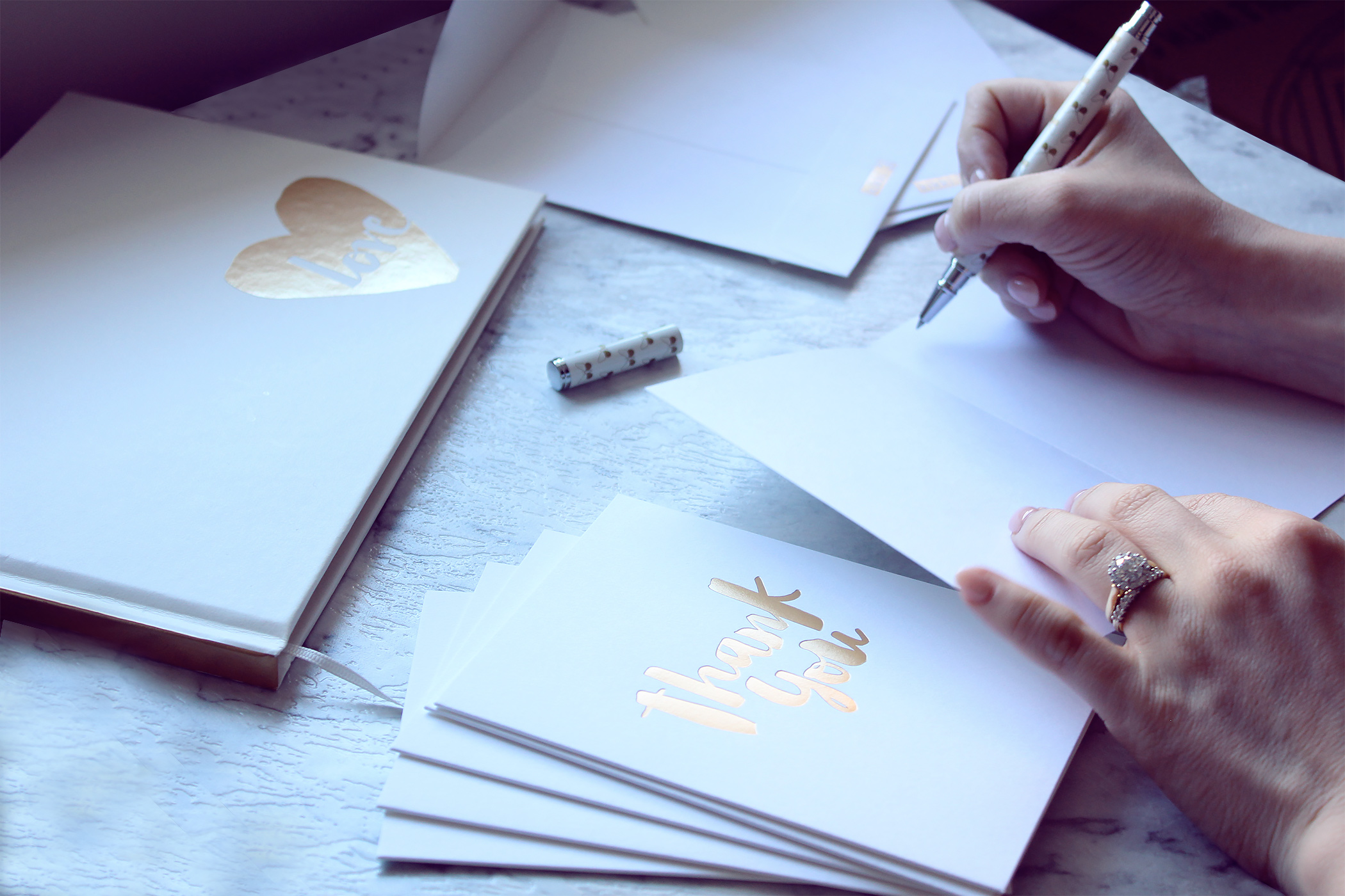 Thank you cards for our guests from  kikki.K