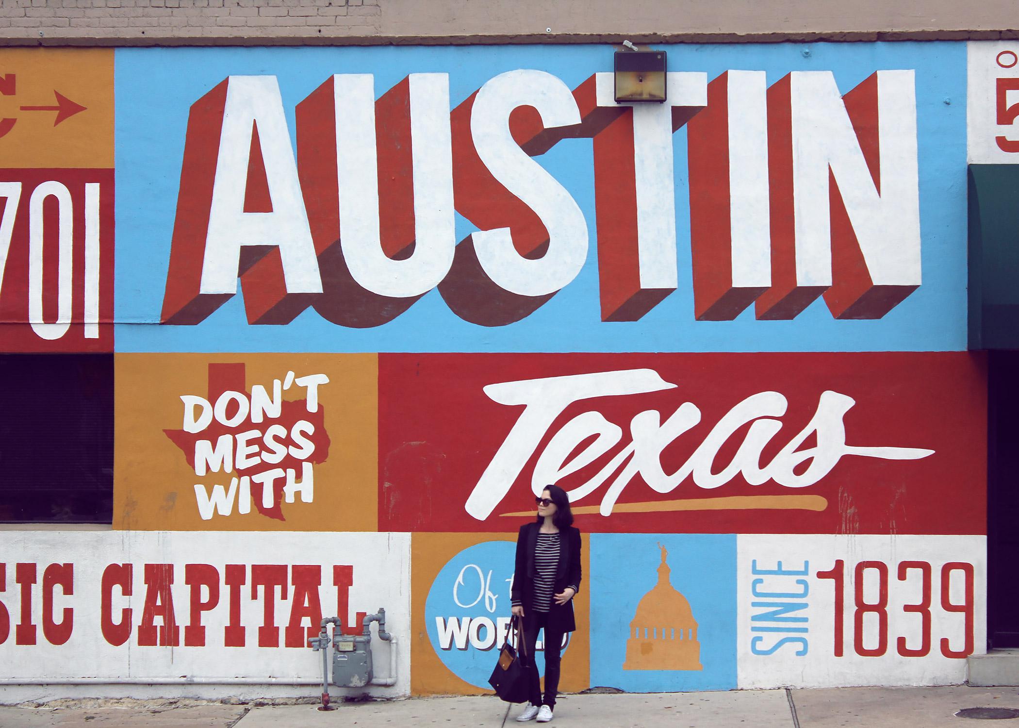 Austin mural off 6th Street