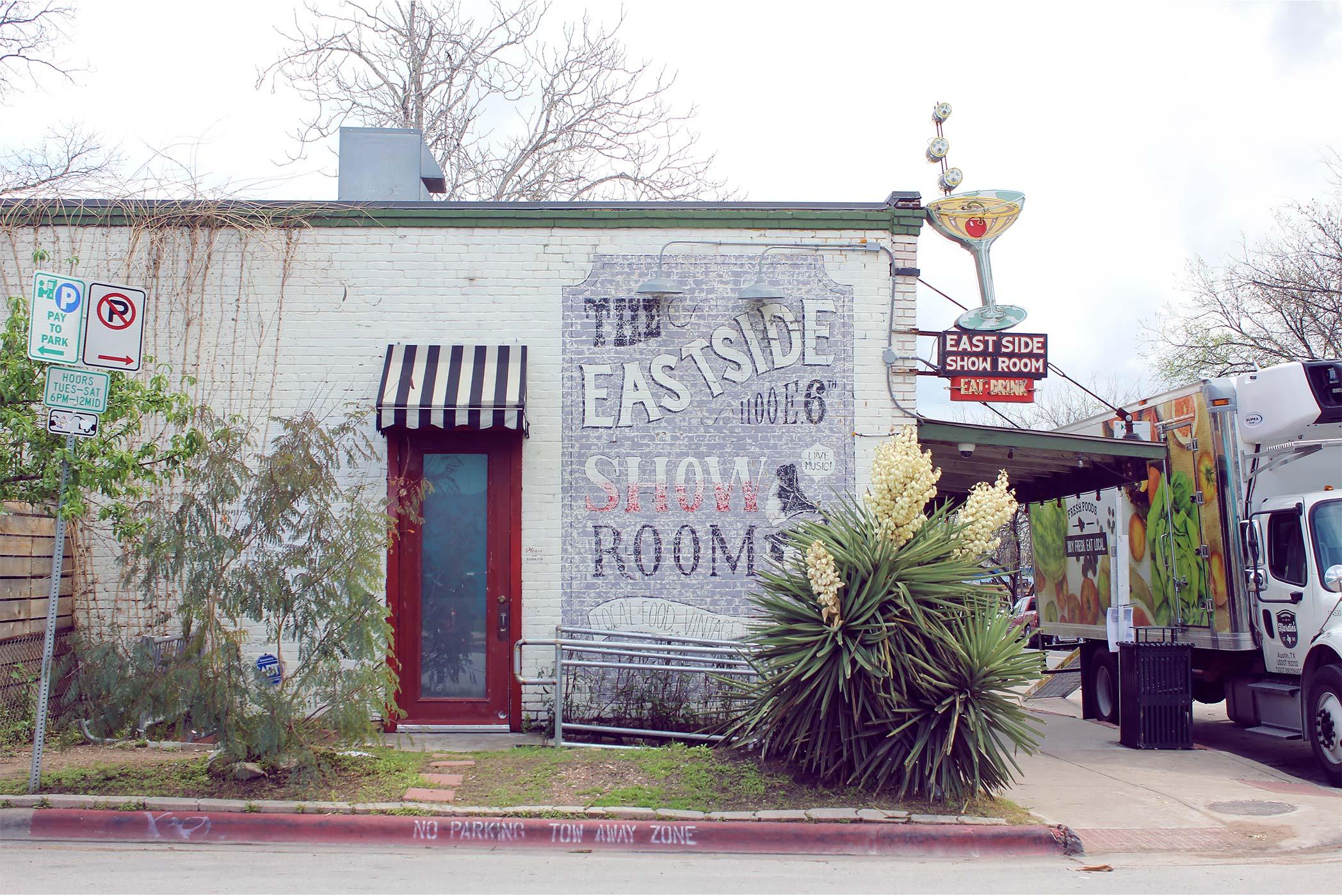 The Eastside Showroom, East 6th Street