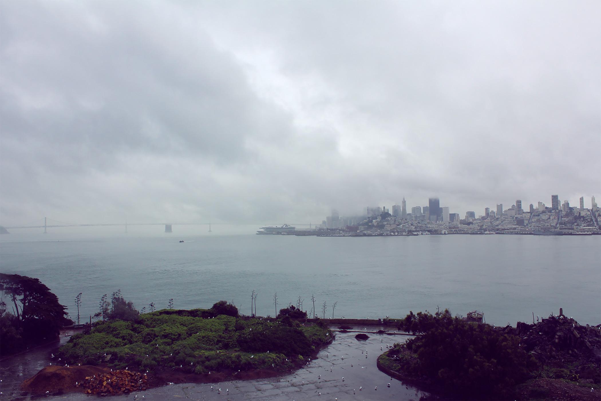 View of San Francisco from Alcatraz