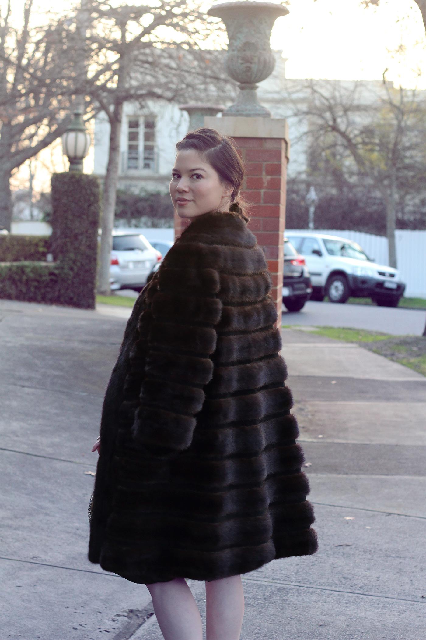 Grandmother 'Por Por's' vintage coat