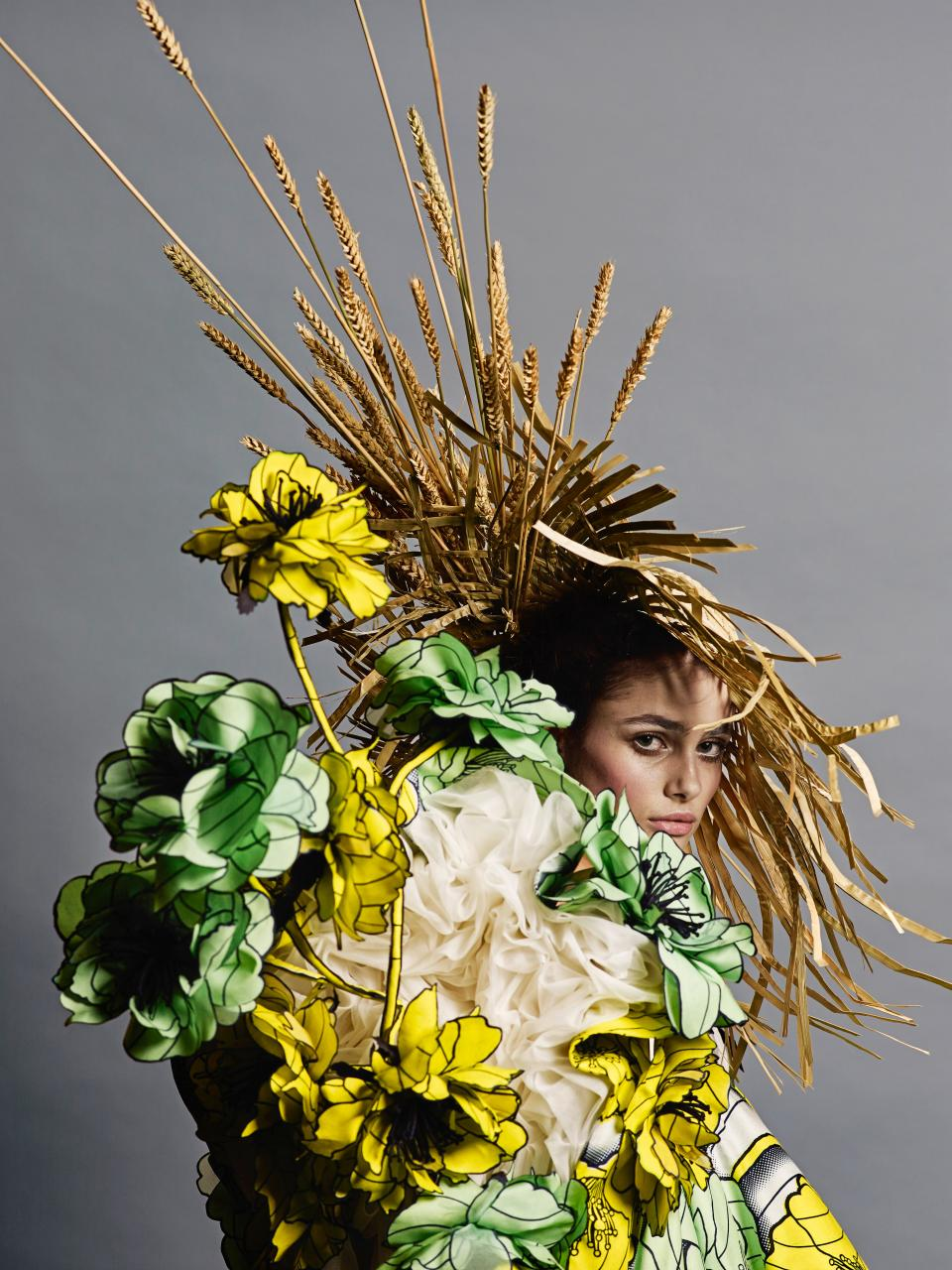 Philip Riches Viktor&Rolf,  Van Gogh Girls  haute couture collection, spring–summer 2015 © Philip Riches