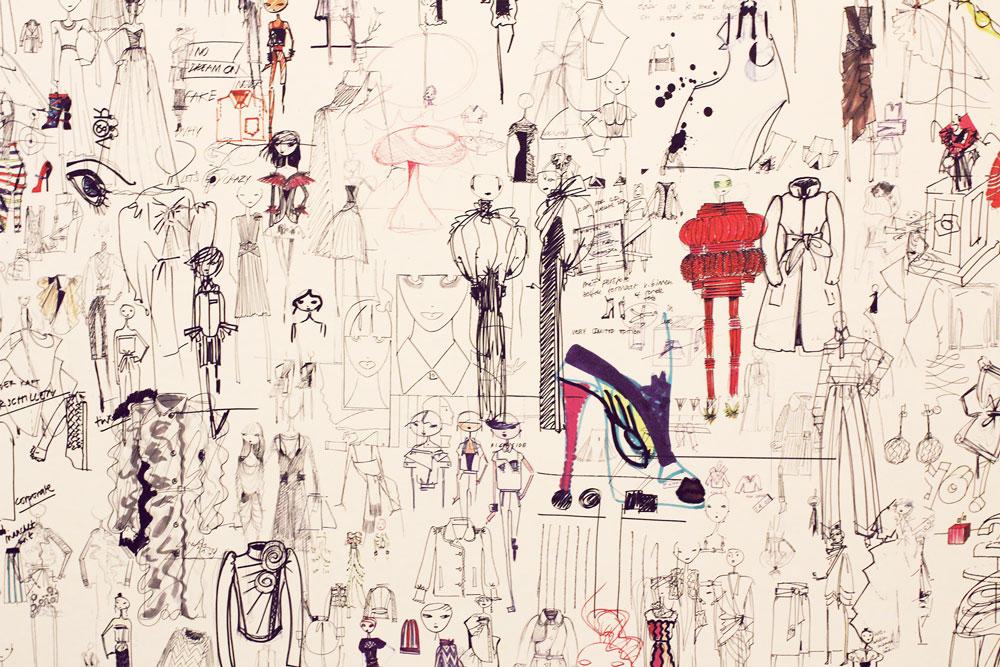 Viktor&Rolf doodles