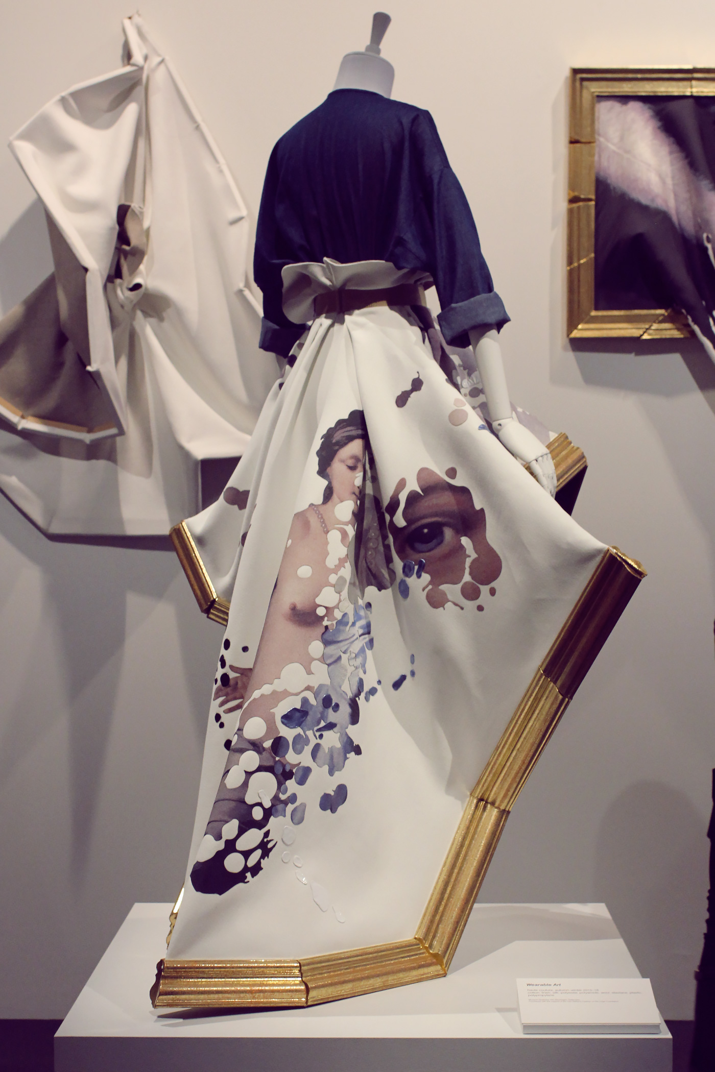 Viktor&Rolf Wearable Art haute couture collection, autumn-winter 2015-16 is responding to the question,  'Can fashion be art?'