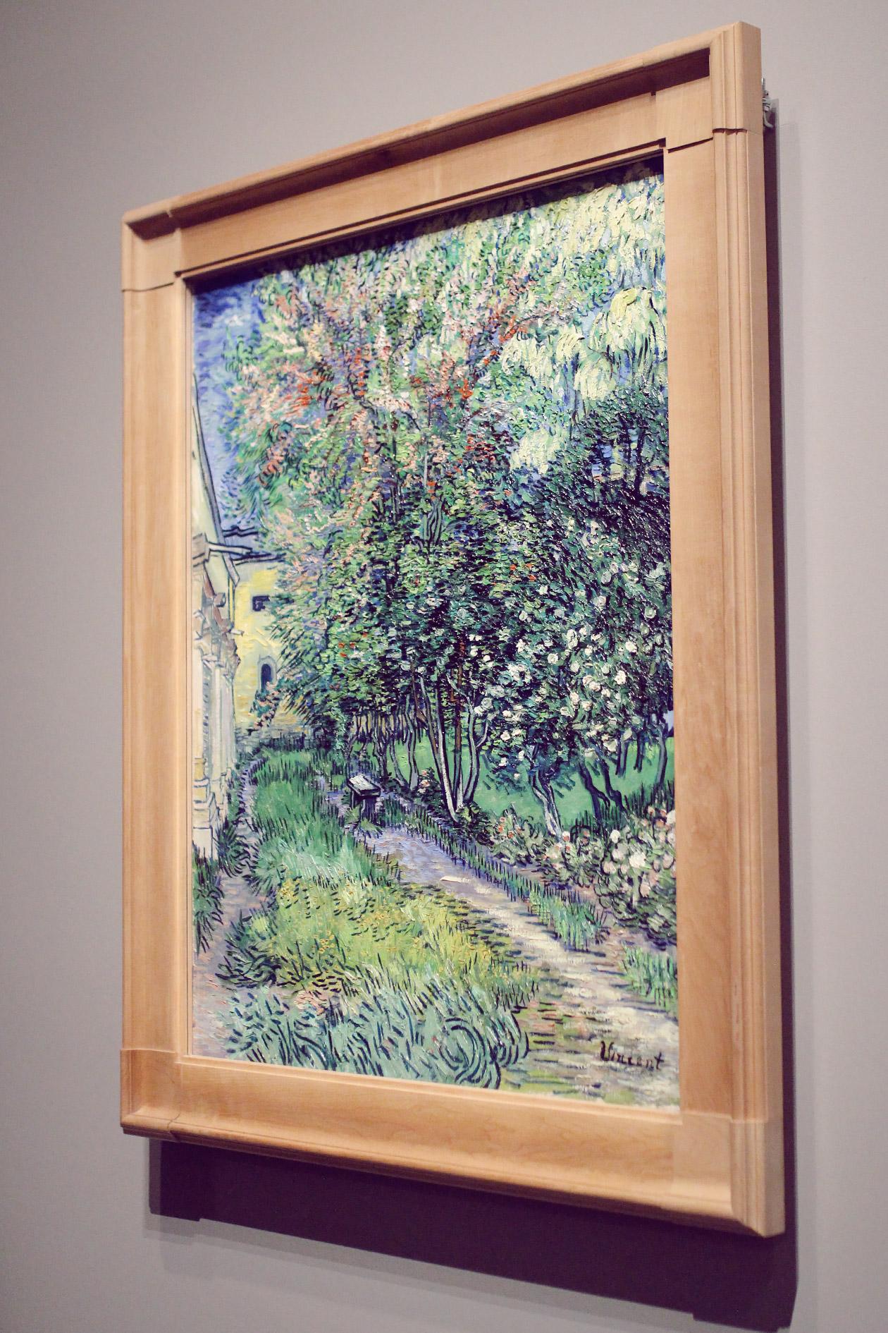 NGV Van Gogh Lei Lady Lei