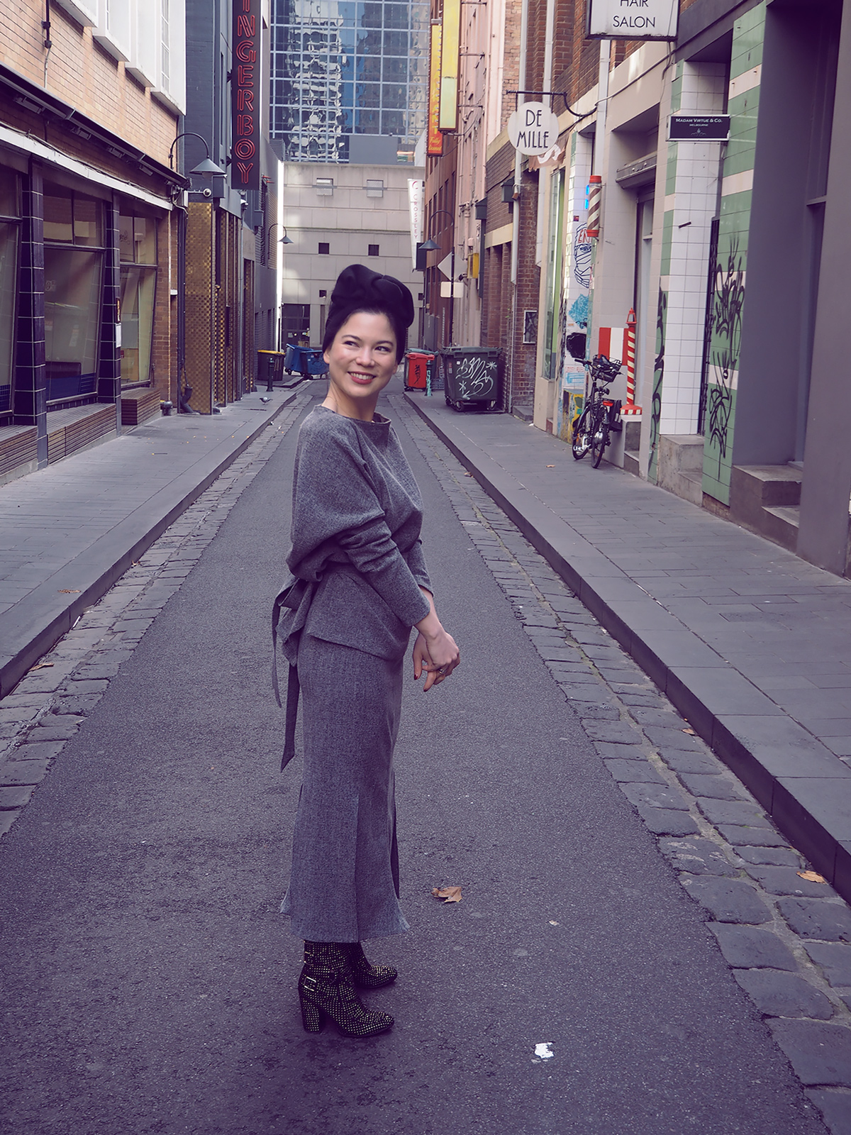 Shot in Crossley Street by  Streets of Melbourne Officia l.