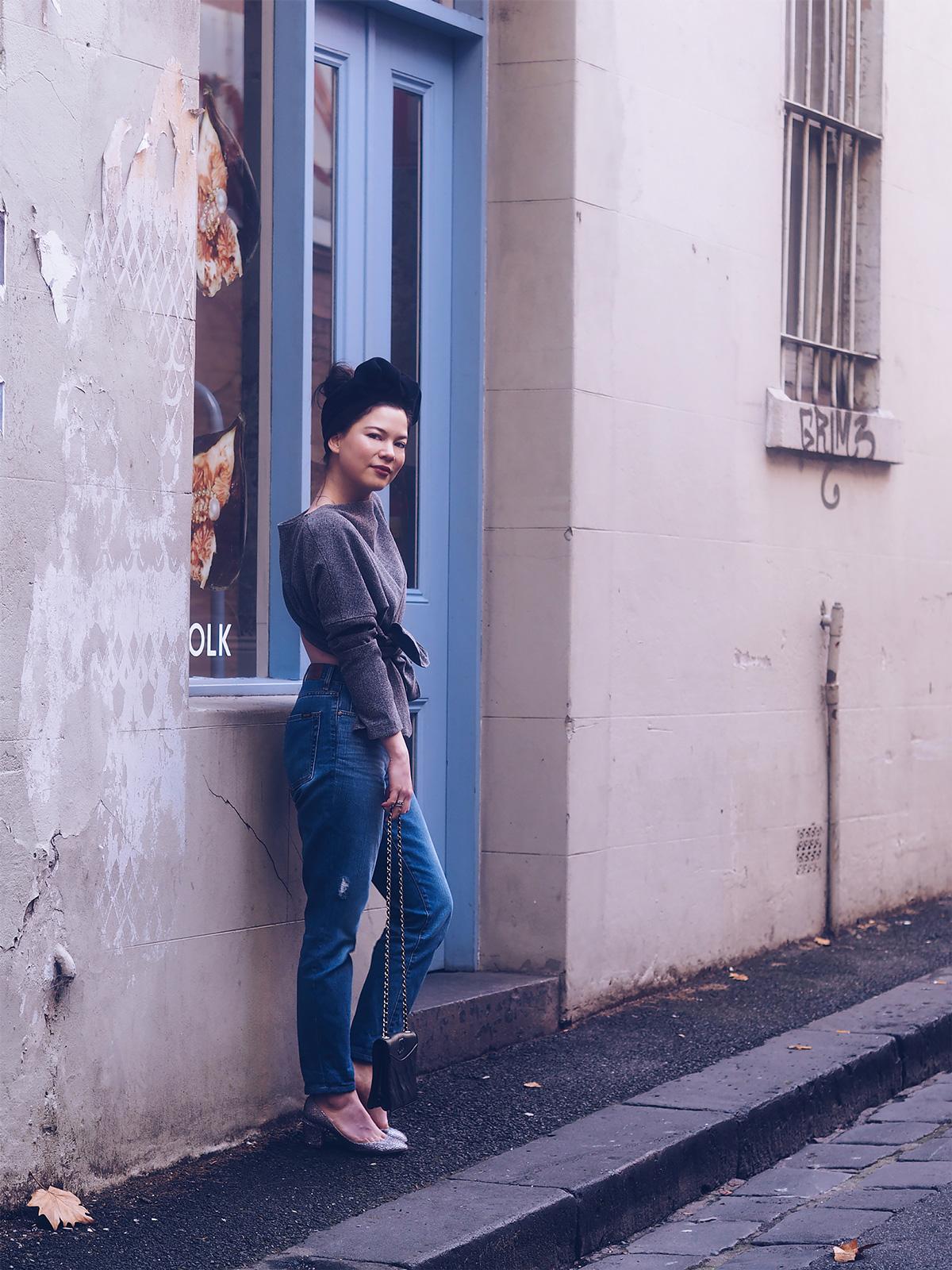 Streets of Melbourne Jacinta James Lei lady Lei