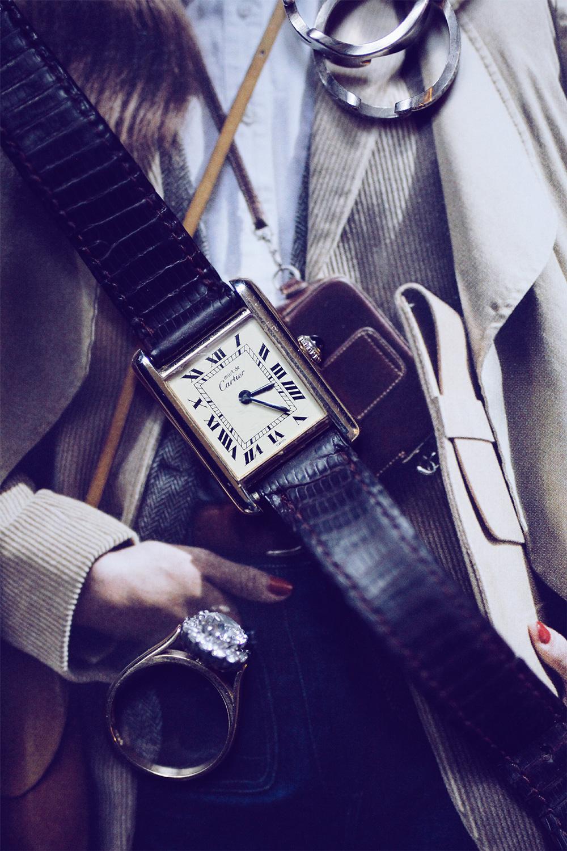 My Cartier Must de Tank watch will cost me $1.90 per wear by June 2018.