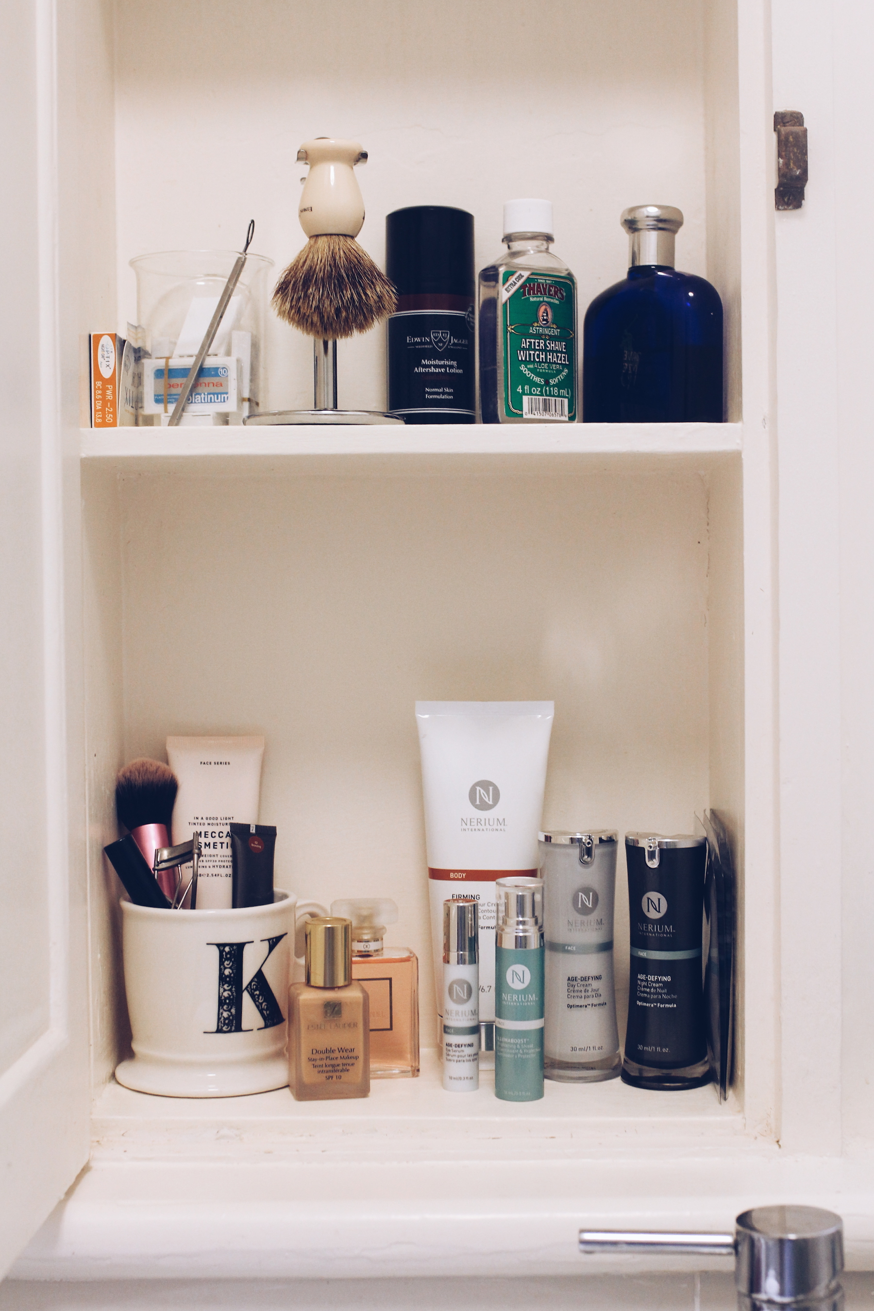 His and hers - My beauty cabinet