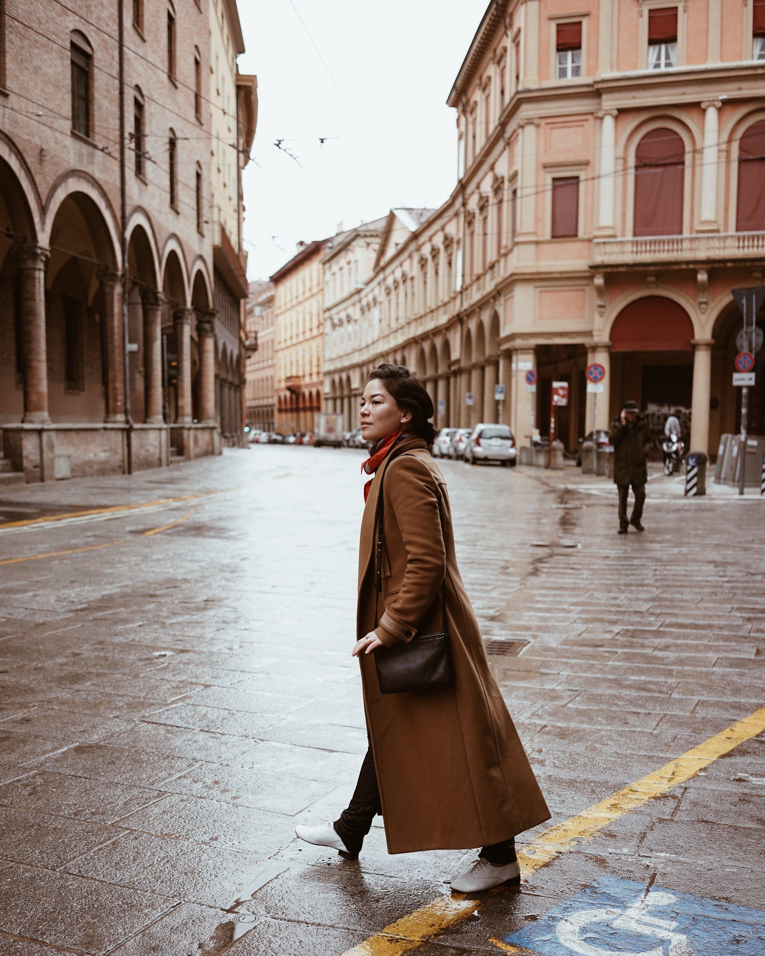 Streets of Bologna Lei Lady Lei