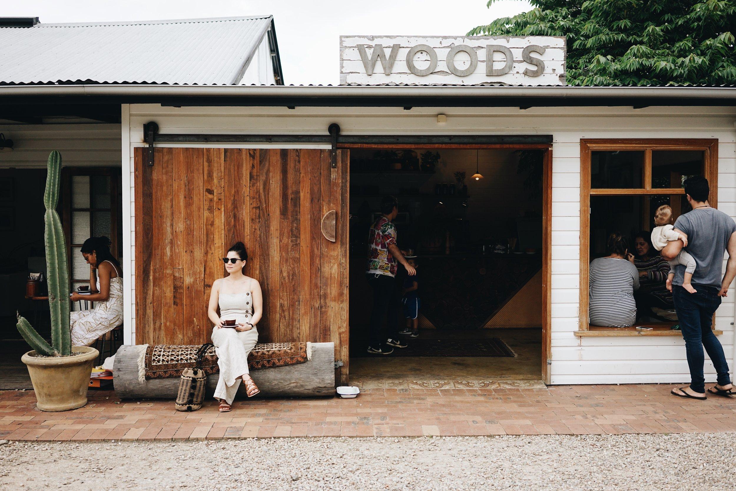 Woods Bangalow Cafe