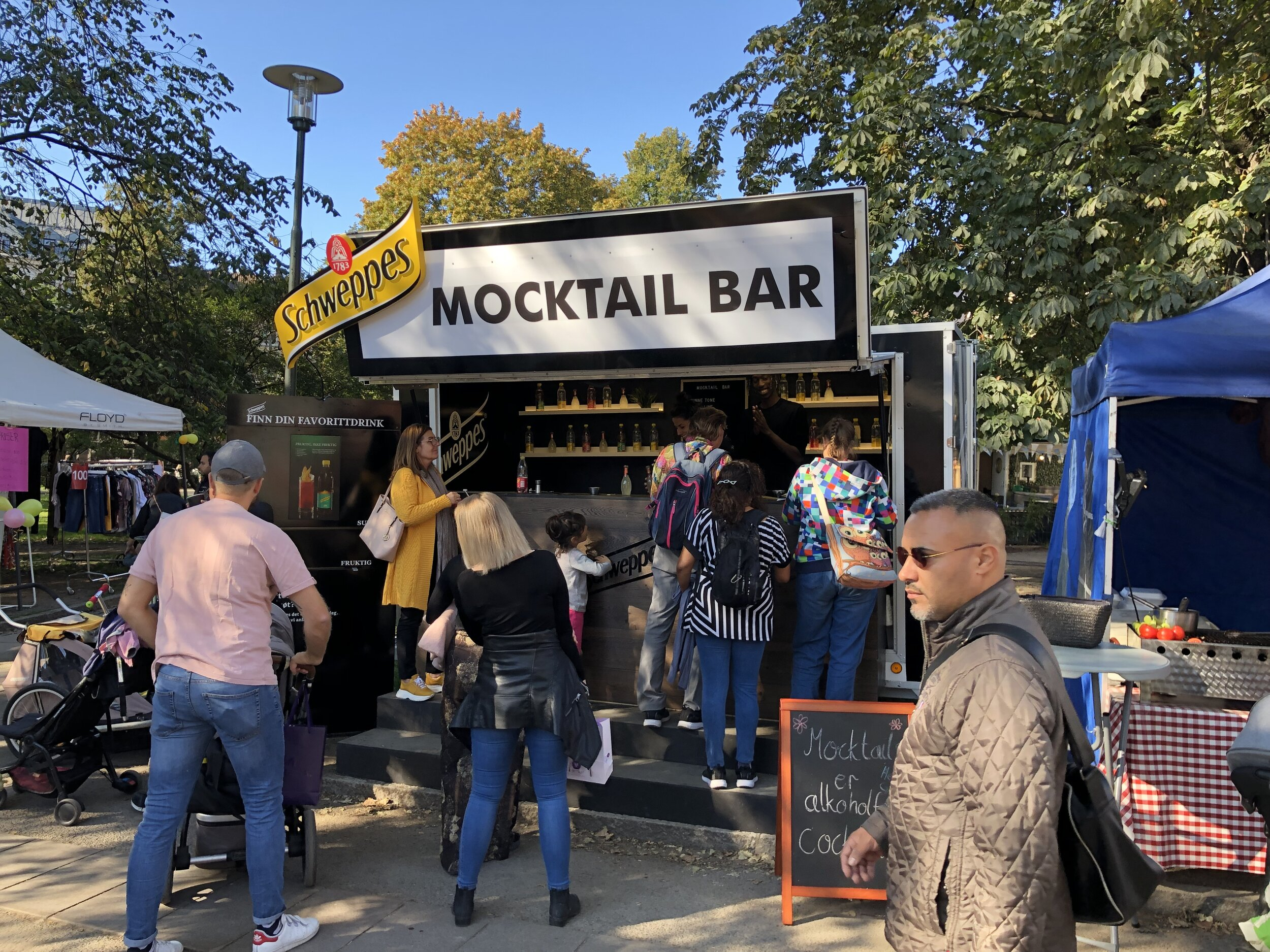 A drink for every mood - Introducing mocktail to the Norwegian market with mixers from Schweppes